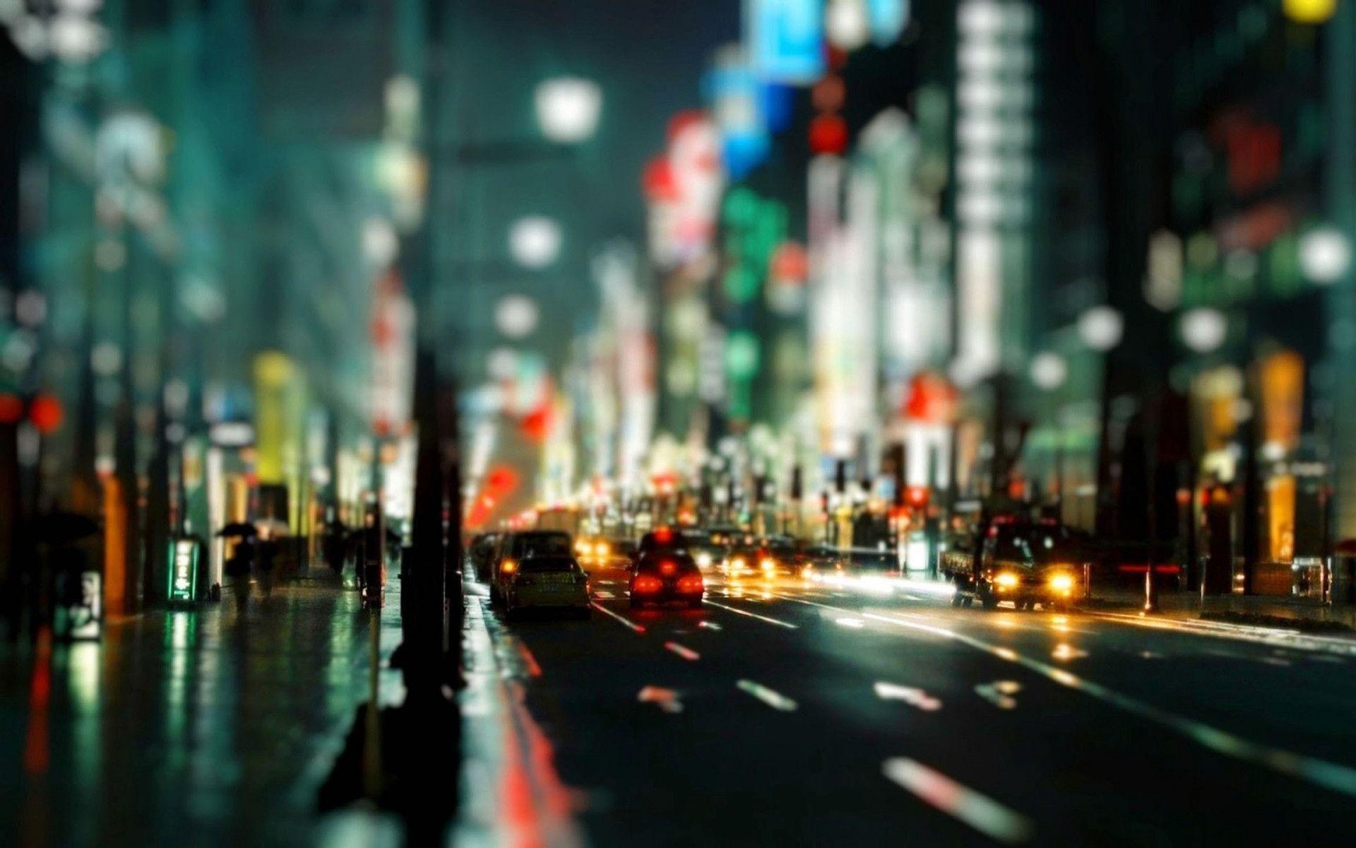 1920x1080 Wallpaper City Night Lights Buildings Sky