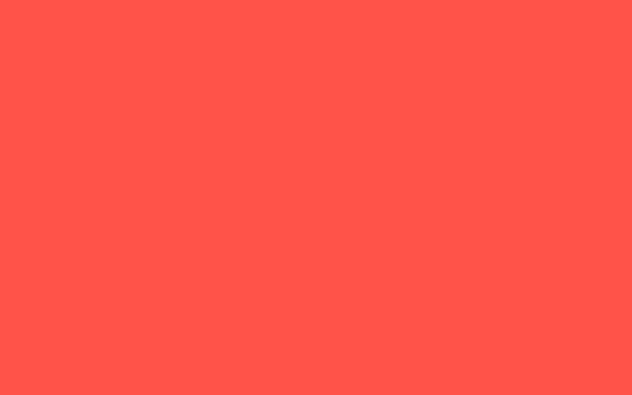 2560x1600  Red-orange Solid Color Background