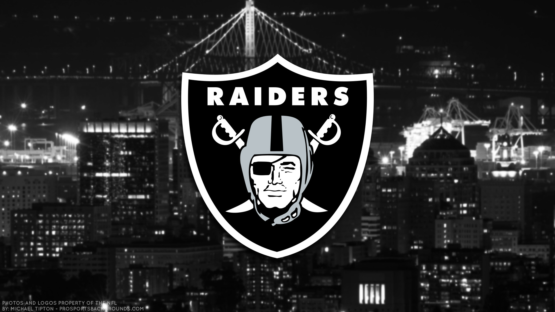 1920x1080 ... Oakland Raiders 2017 football logo wallpaper pc desktop computer