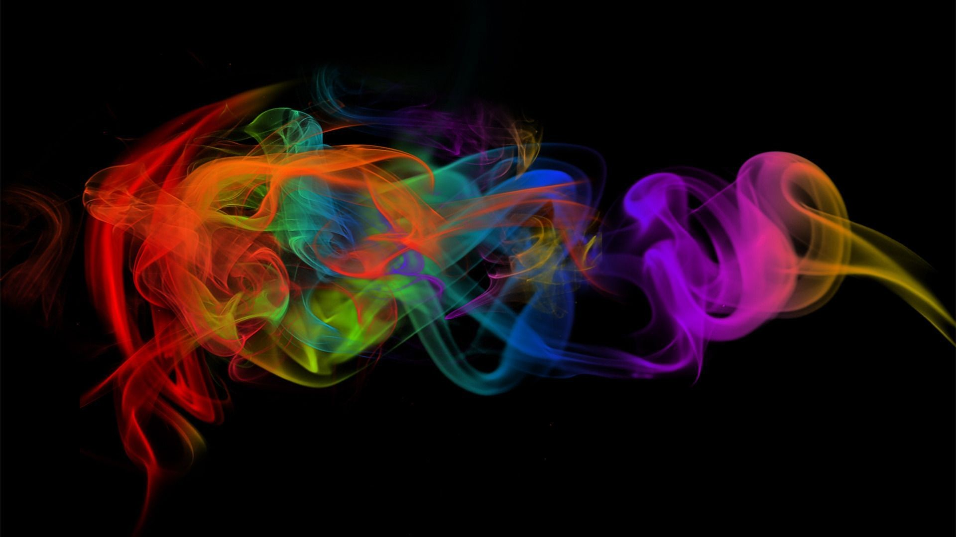 1920x1080 px Backgrounds Hd Colorful Smoke