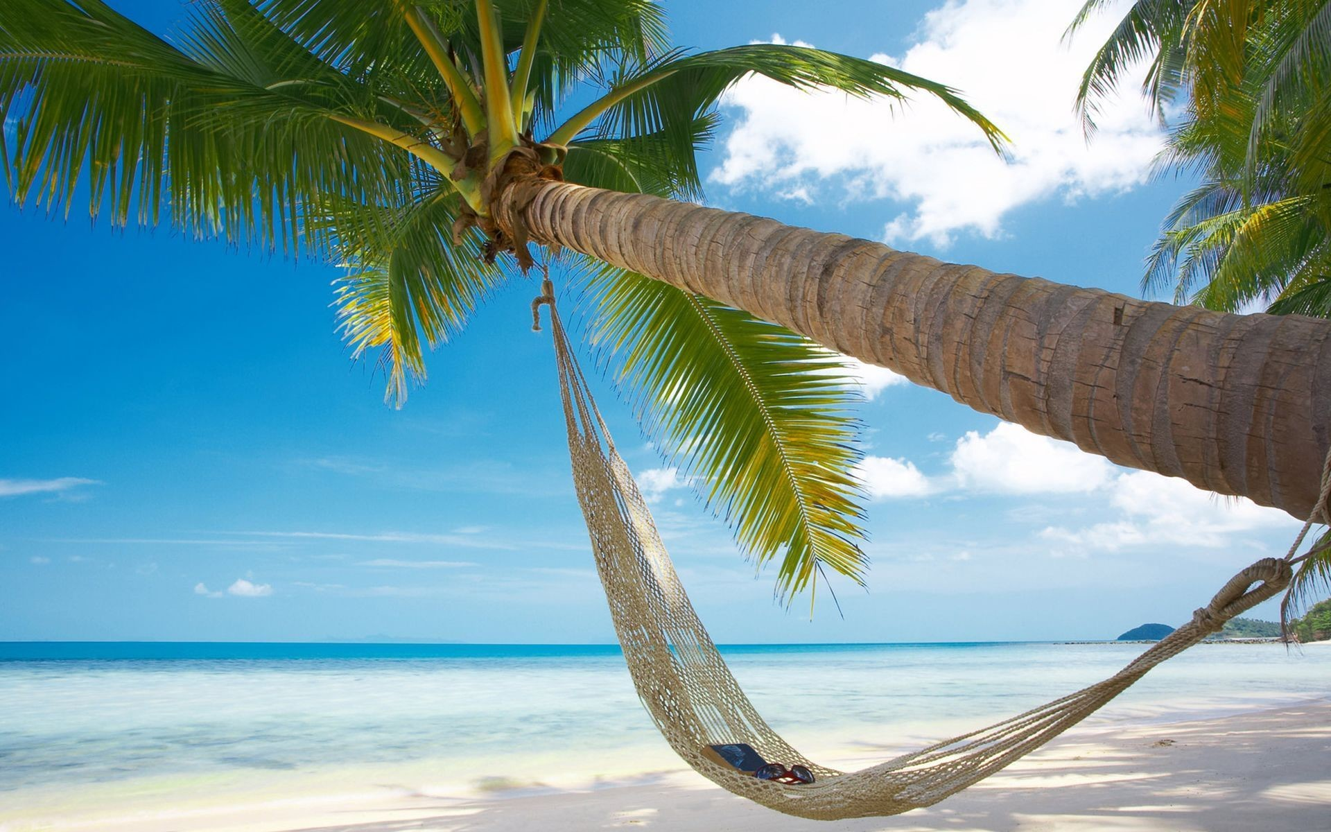 1920x1200 tropical-beach-hammock-hd-wallpapers-scenes-wallpaper-painting-