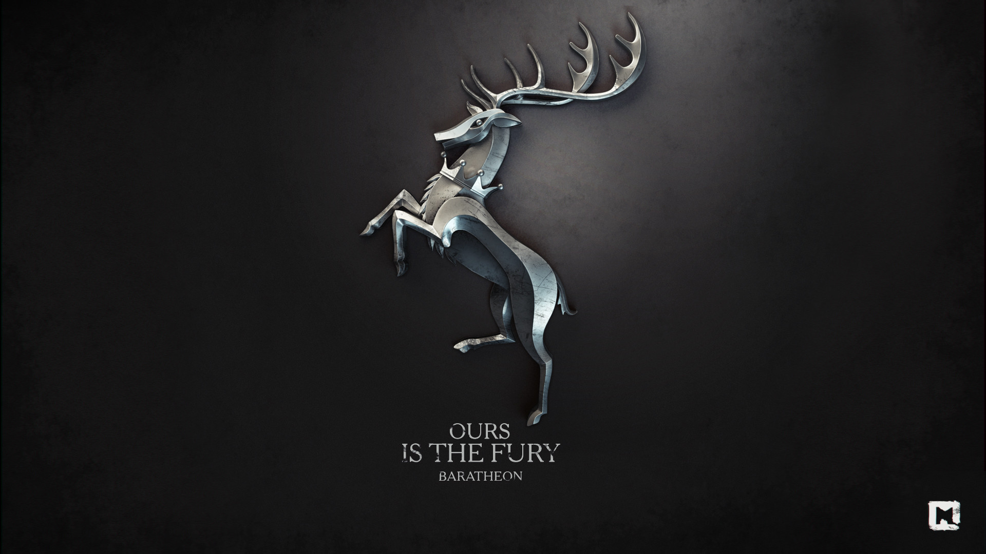 1920x1080 Fury Game of Thrones House Baratheon Melaamory / Wallpaper