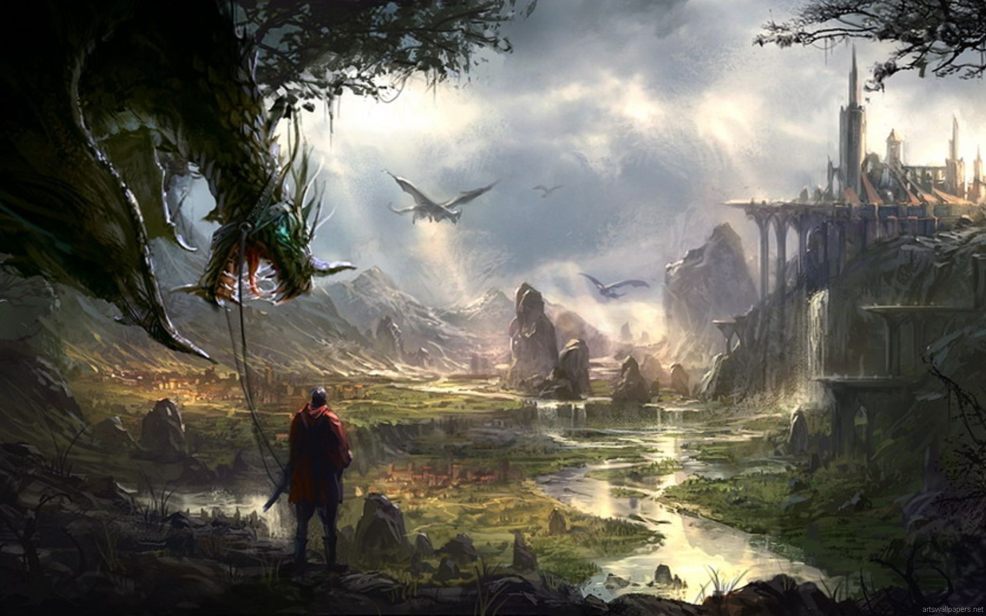 Hd Wallpapers Fantasy 79 Images: HD Fantasy Wallpapers 1080p (73+ Images