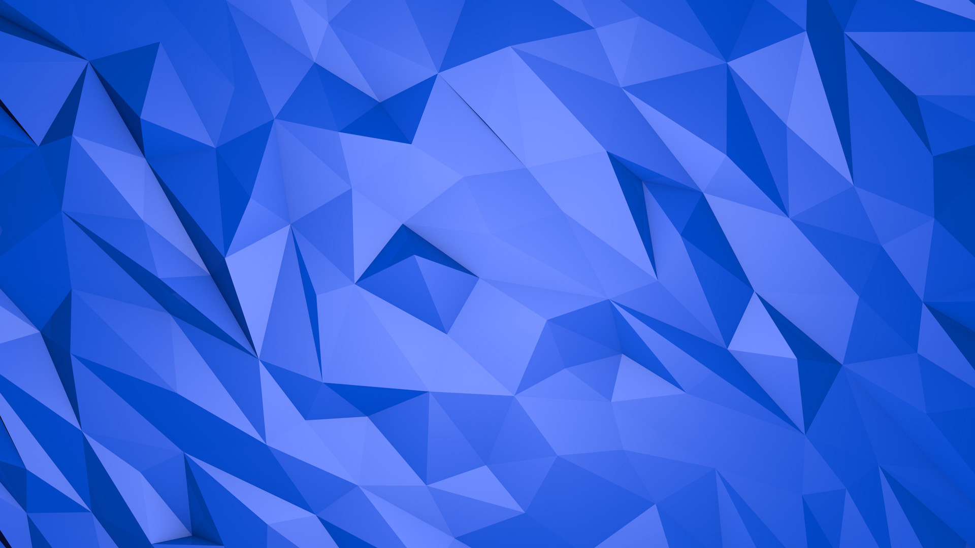 1920x1080 Abstract blue triangles - 3D wallpaper. Awesome 3D and HD rendered  Wallpapers. download beautiful