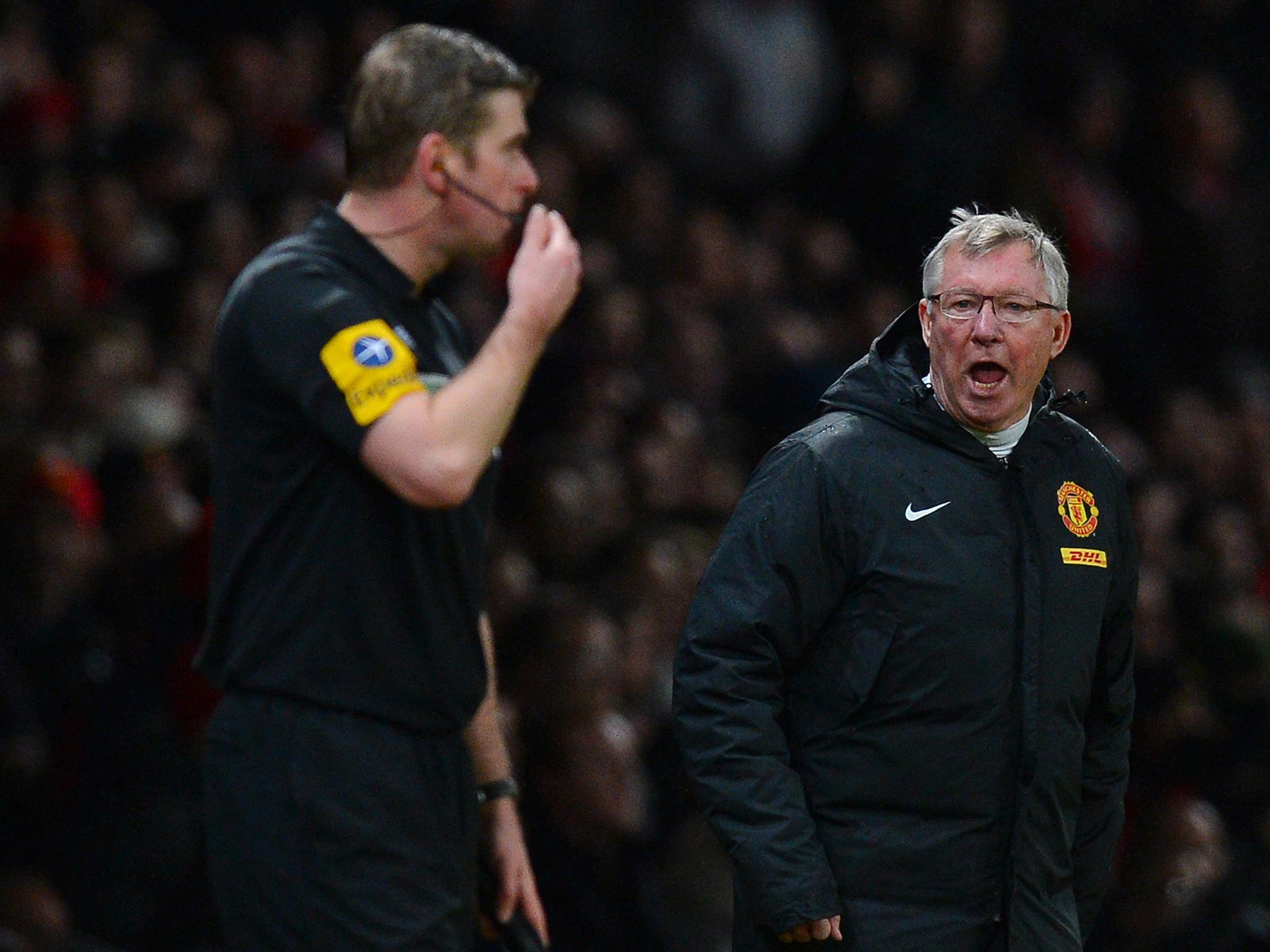 2048x1536 Sir Alex Ferguson escapes FA punishment despite half-time rant at referee  Mike Dean | The Independent