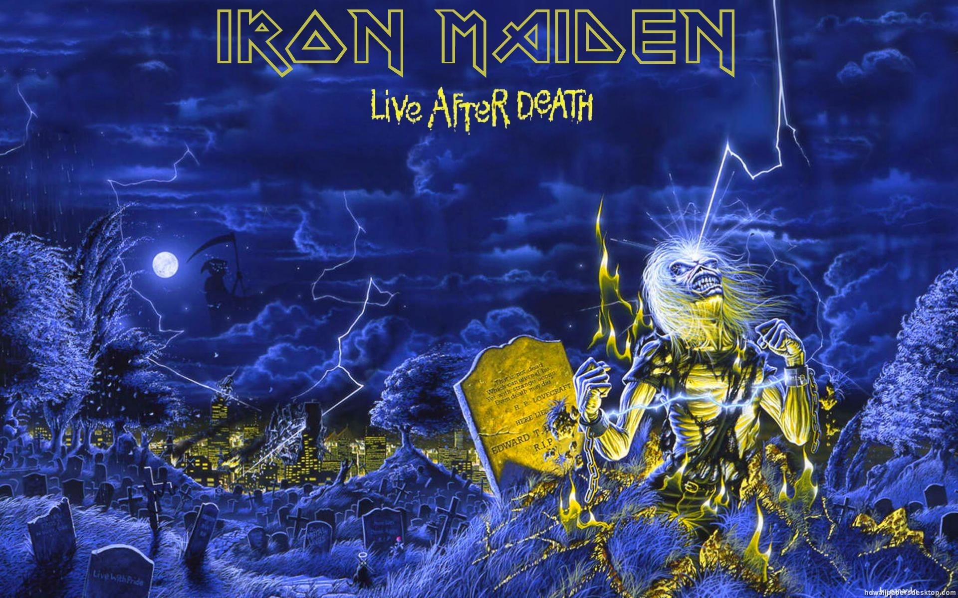 1920x1200 Iron Maiden HD Wallpapers Backgrounds Wallpaper 1920×1200