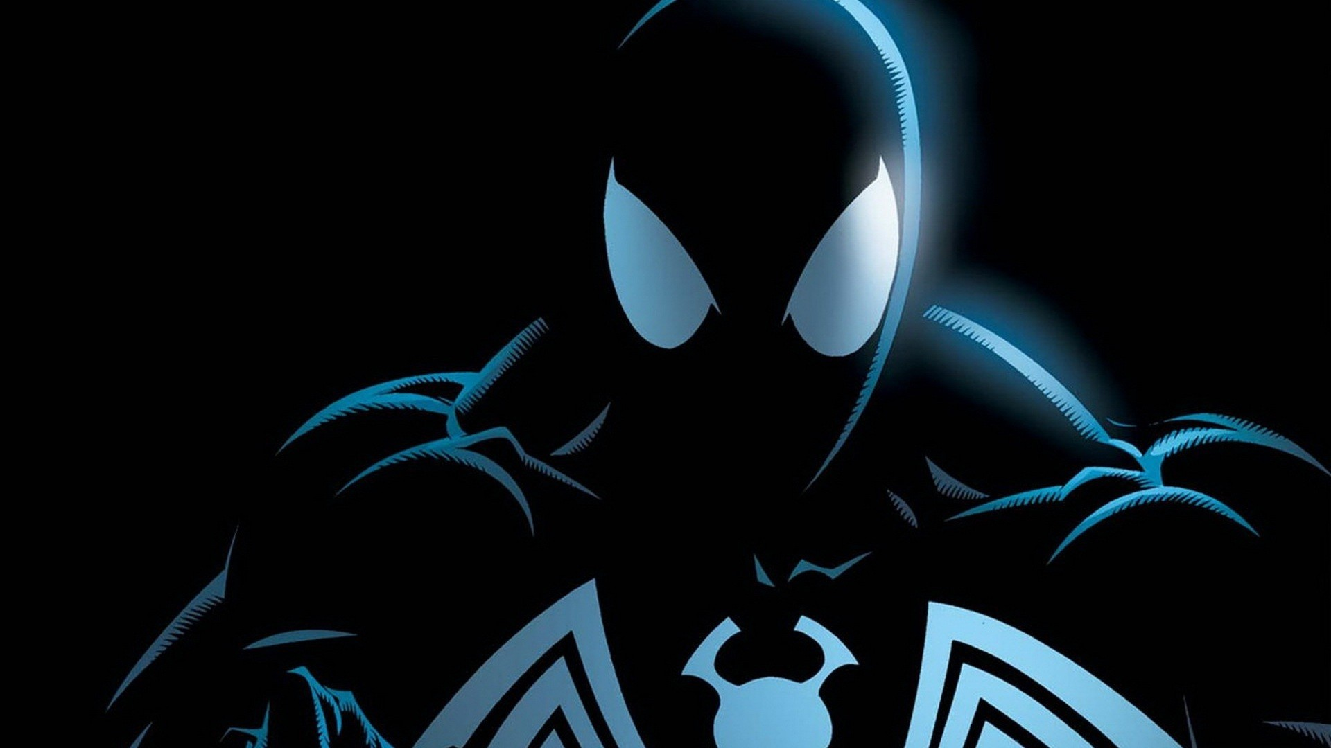 1920x1080 black spider man marvel background