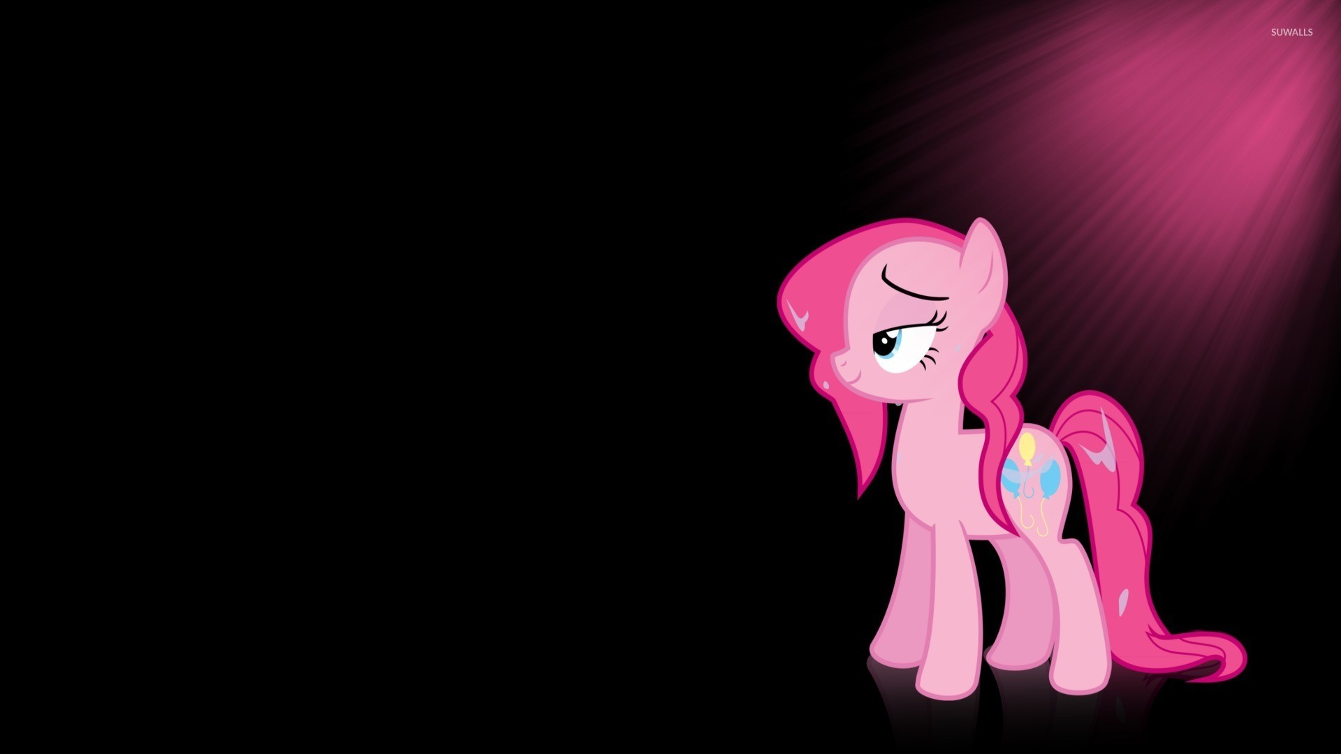 1920x1080 Sun Light Upon Pinkie Pie
