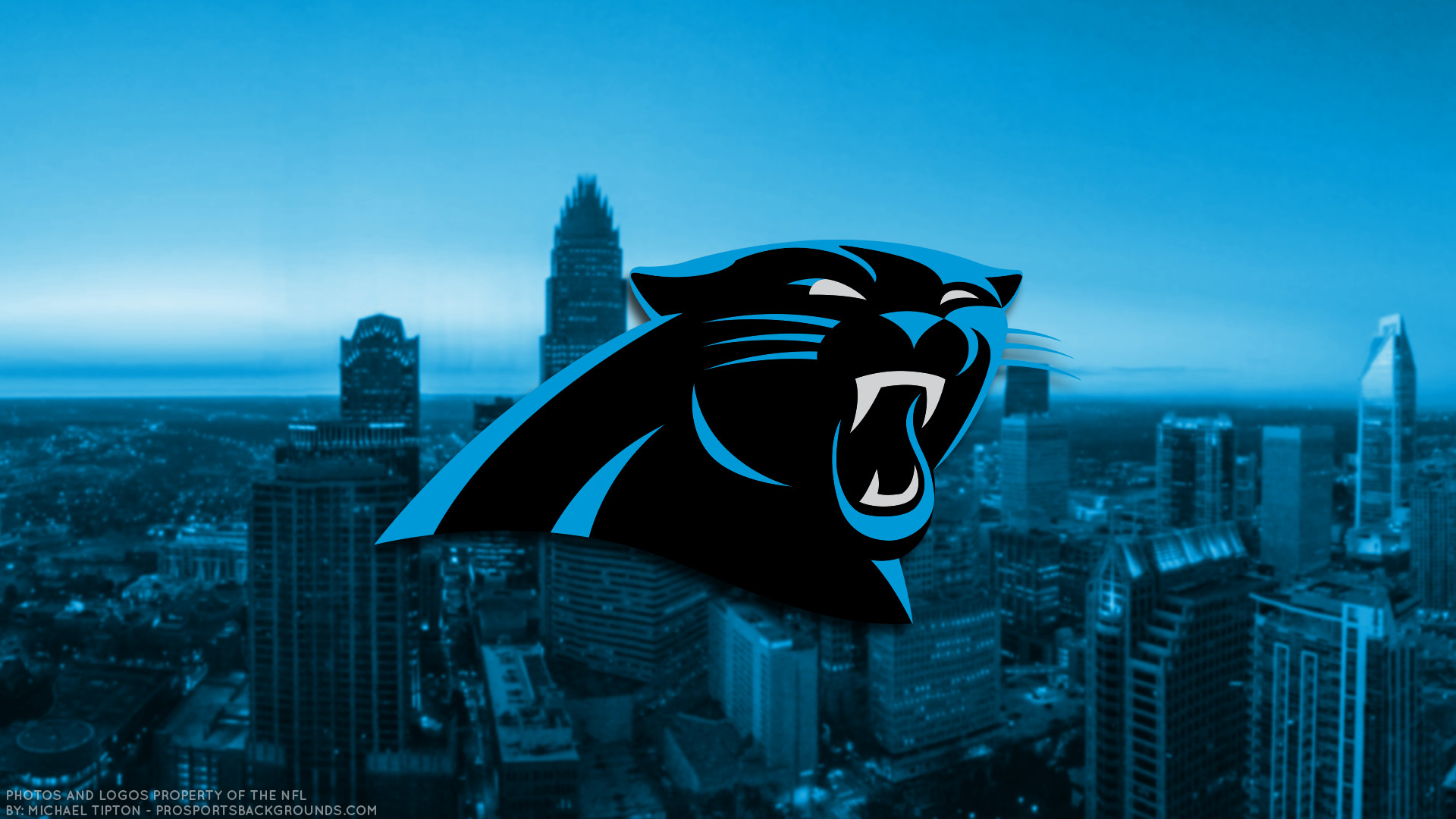 1920x1080 ... Carolina Panthers 2017 football logo wallpaper pc desktop computer