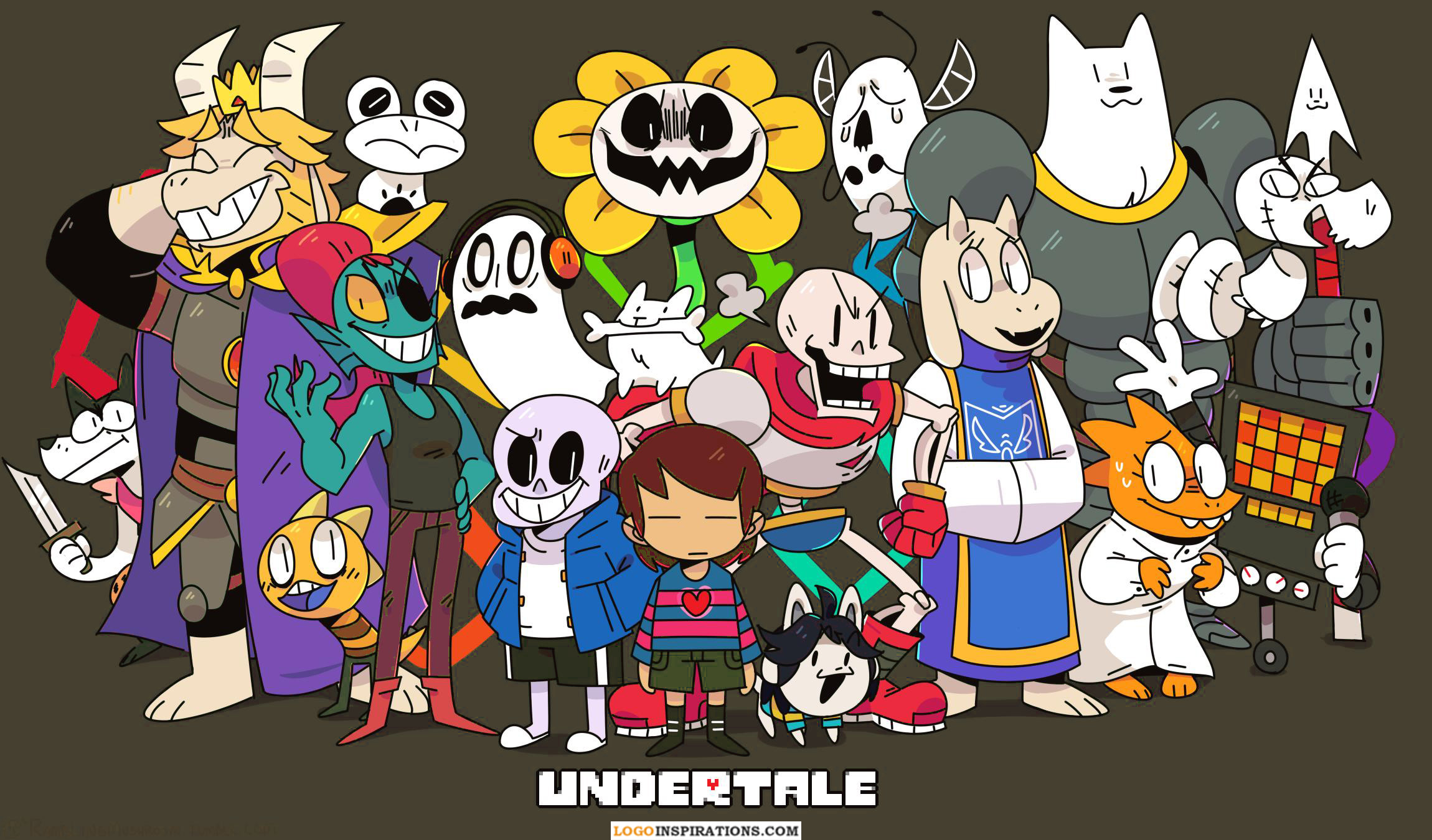 2300x1350 HD Undertale Phone Wallpaper
