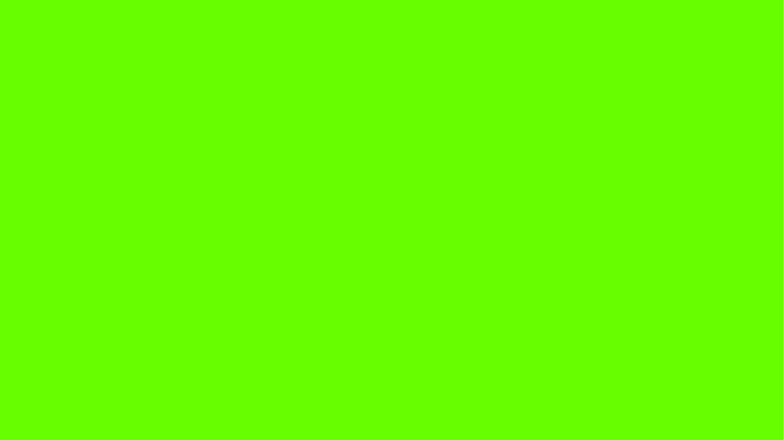 2560x1440  Bright Green Solid Color Background