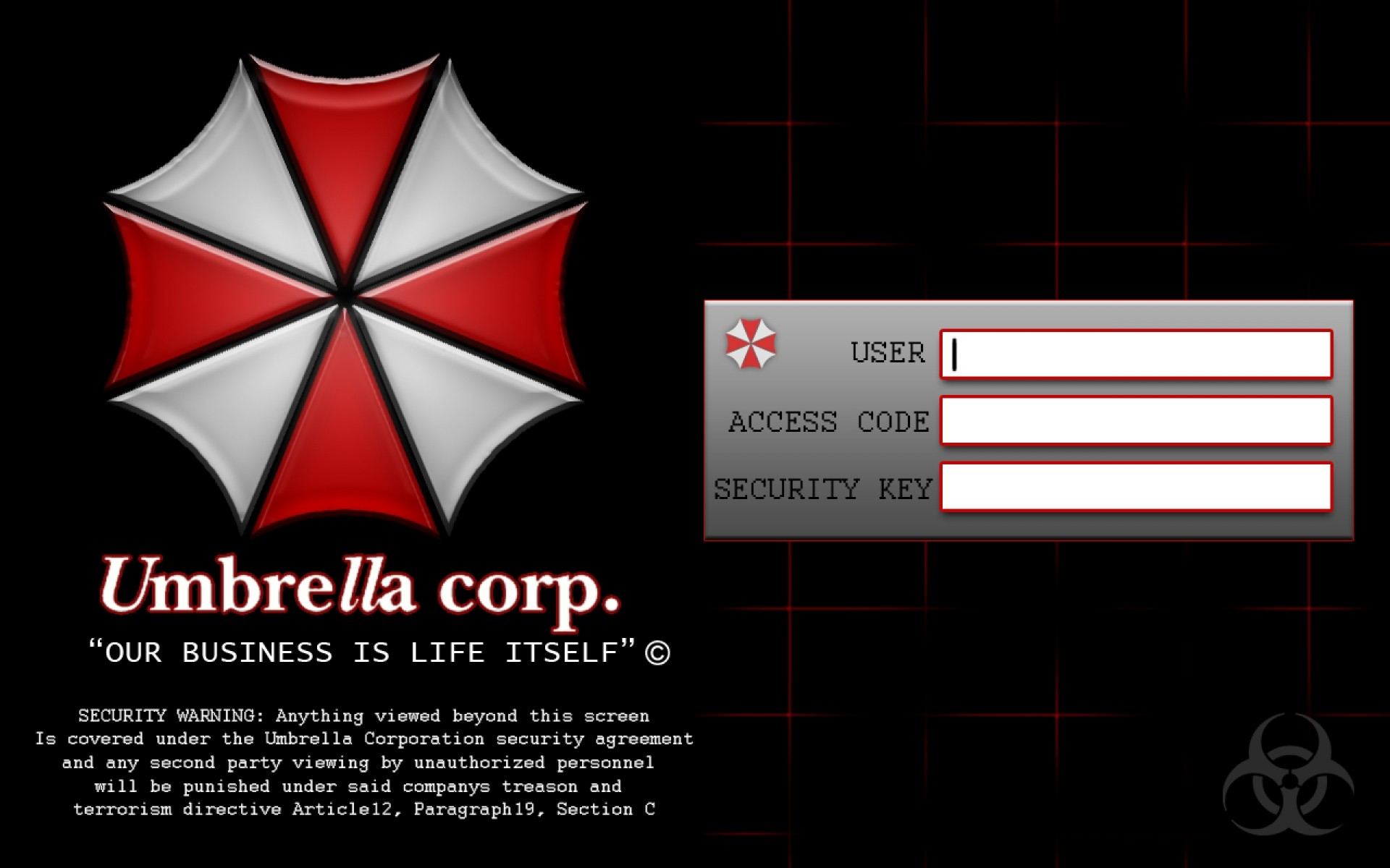 Umbrella Corporation Wallpaper Background (67+ images)