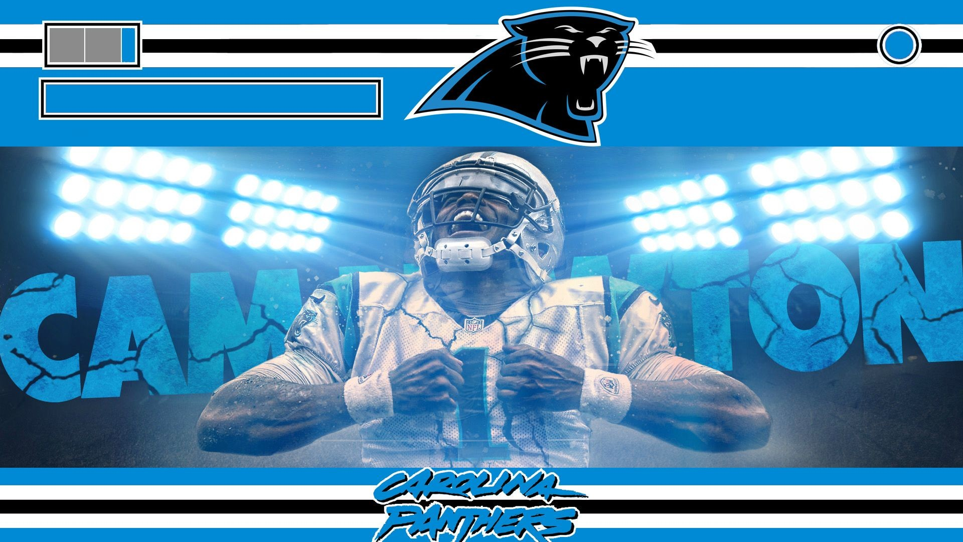 1920x1080 carolina panthers font - Google Search