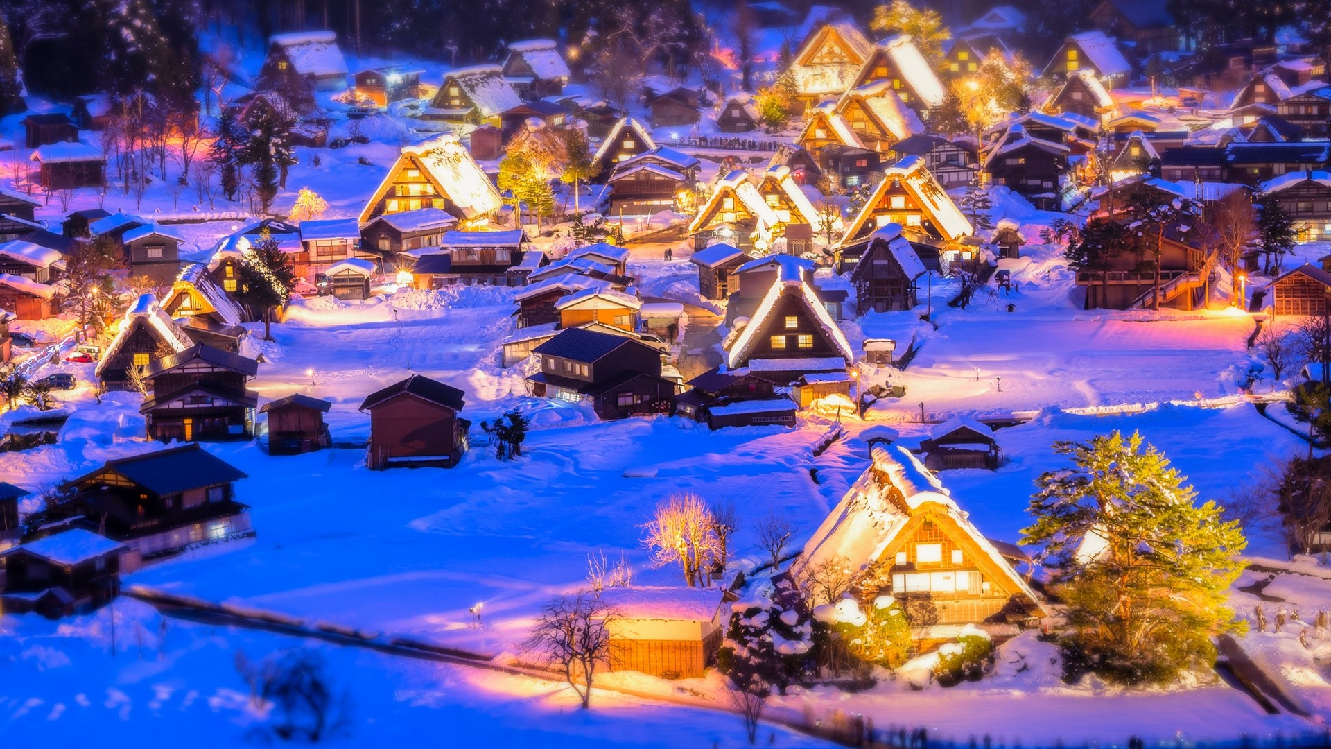 Christmas Village Backgrounds (52+ Images