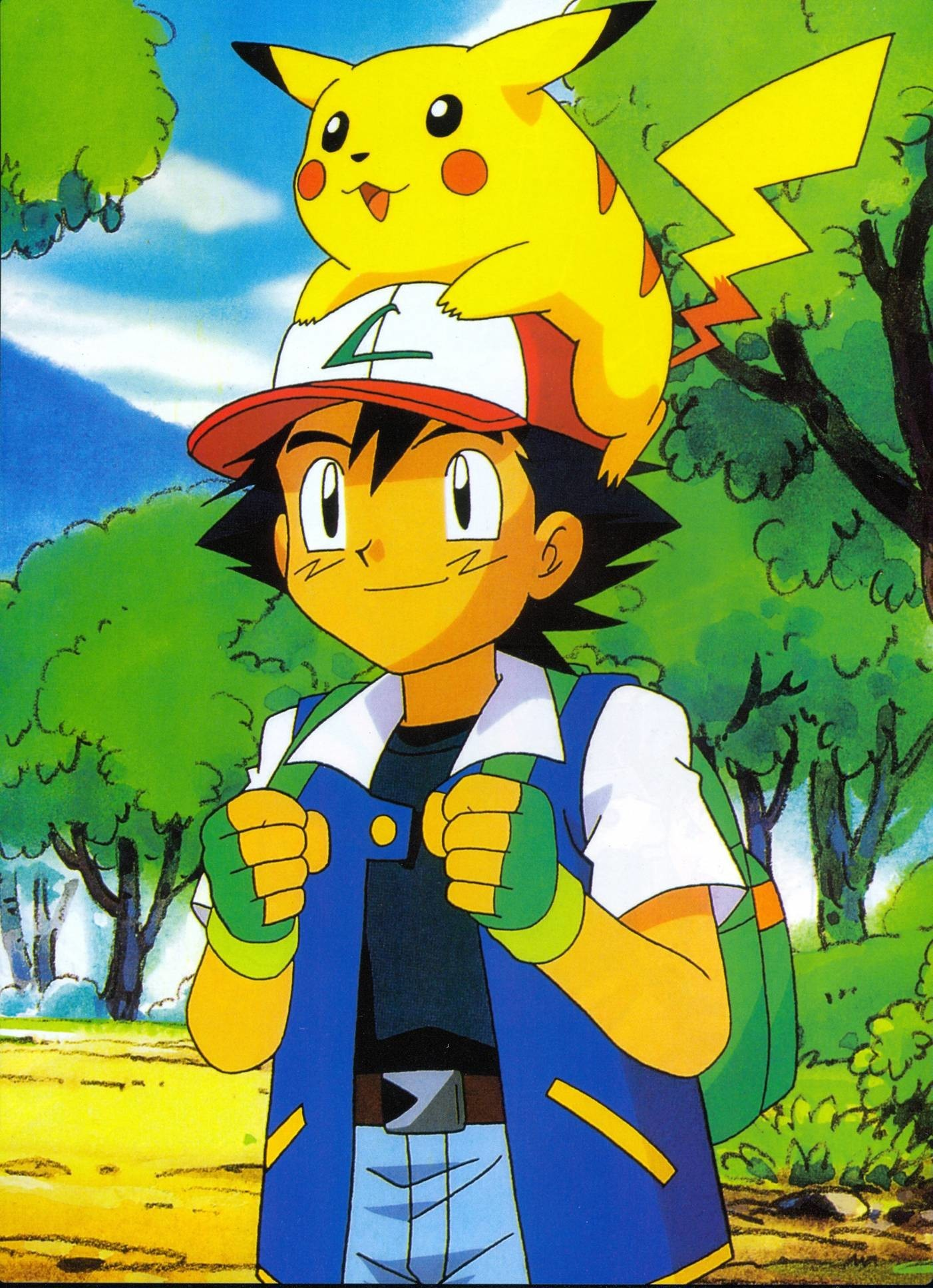Pokemon ash wallpapers 54 images - Ash and pikachu wallpaper ...