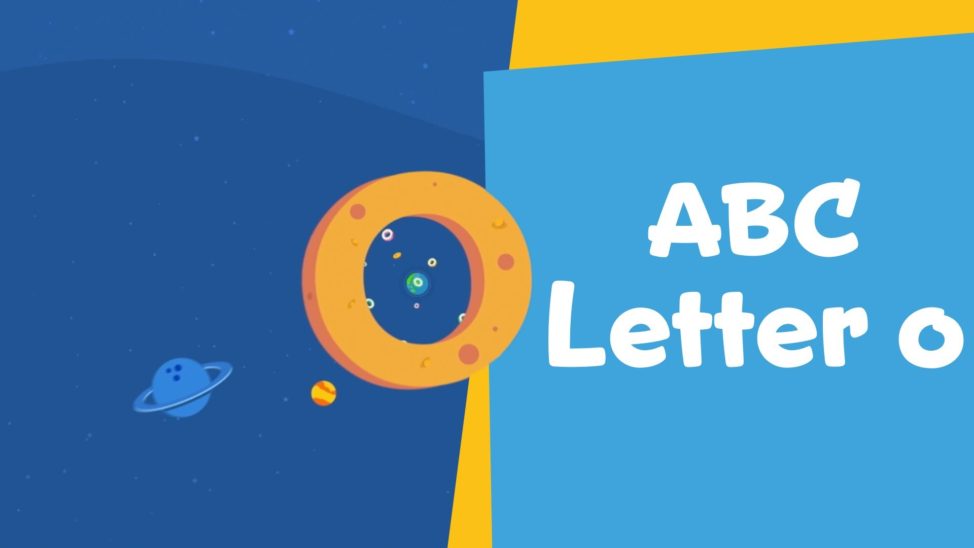"1920x1080 Circle Around with the Letter ""O"" 