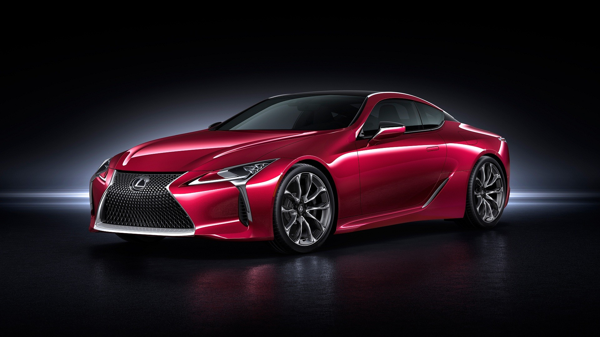 1920x1080 full-shine-red-lexus-car-black-background-wallpapers
