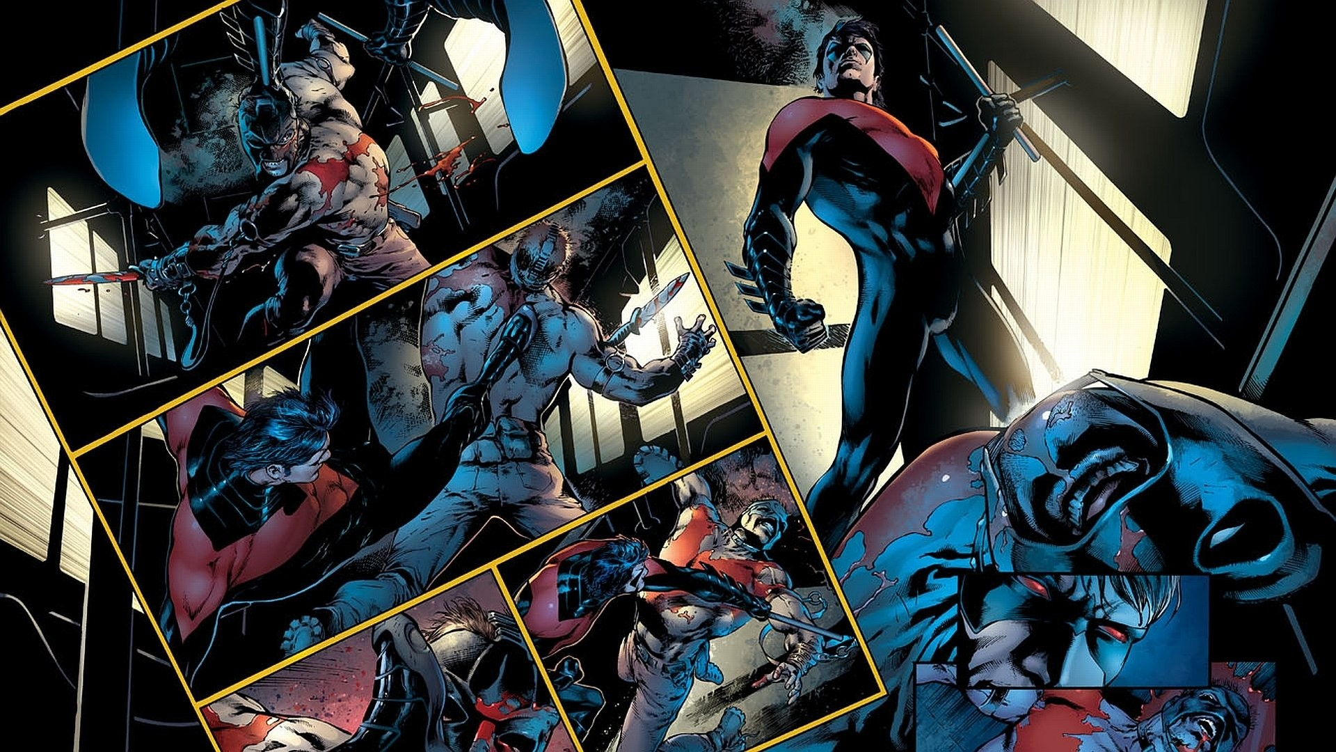 1920x1080 Comics - Nightwing Wallpaper