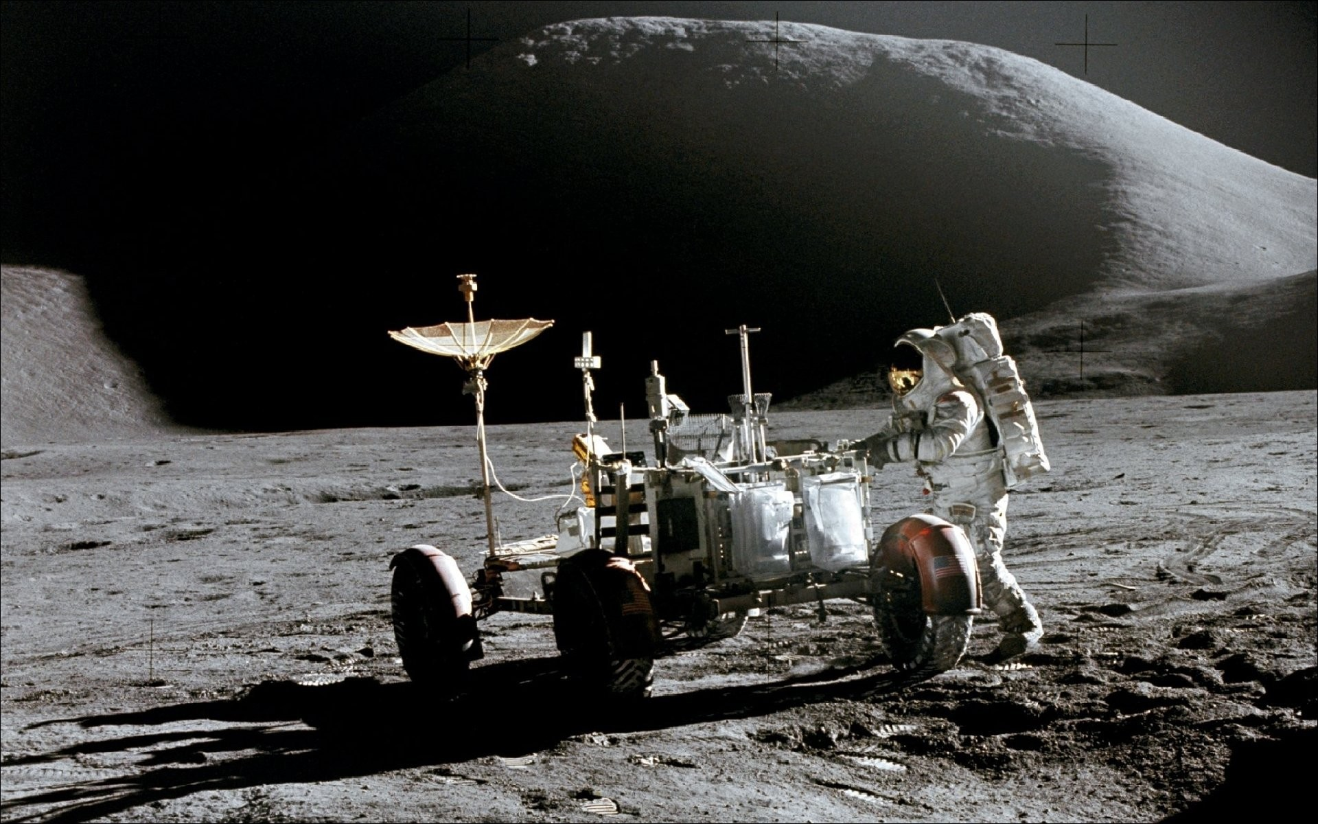 Astronaut on the moon wallpaper 65 images - Nasa space wallpaper 1920x1080 ...