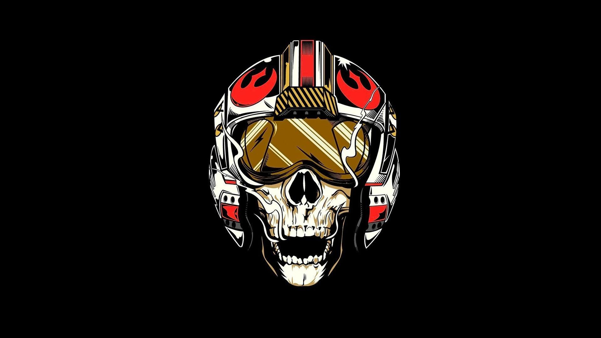 1920x1080 Star Wars, Rebel Alliance, Pilot, Skull Wallpapers HD / Desktop .