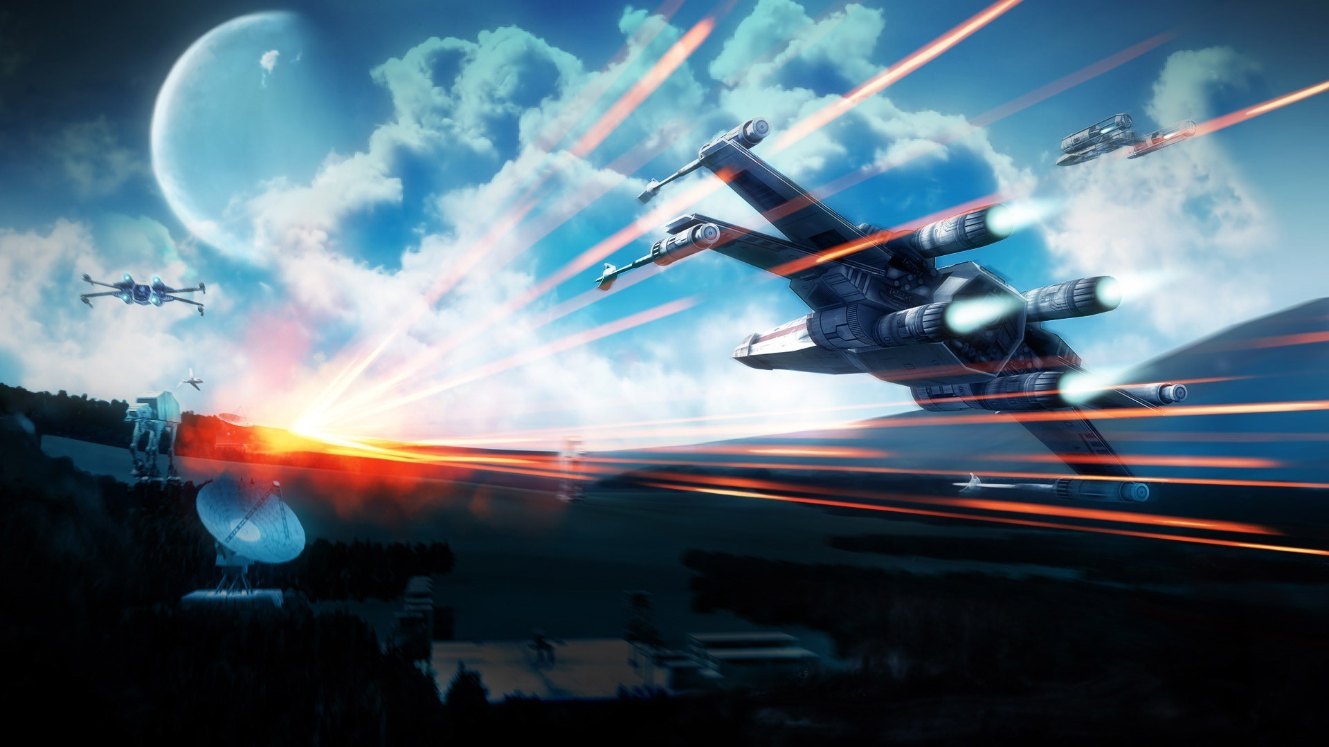 1920x1080 Squadron VII stars Wars x wing wallpaper 1920×1080 X Wing Wallpaper (45  Wallpapers