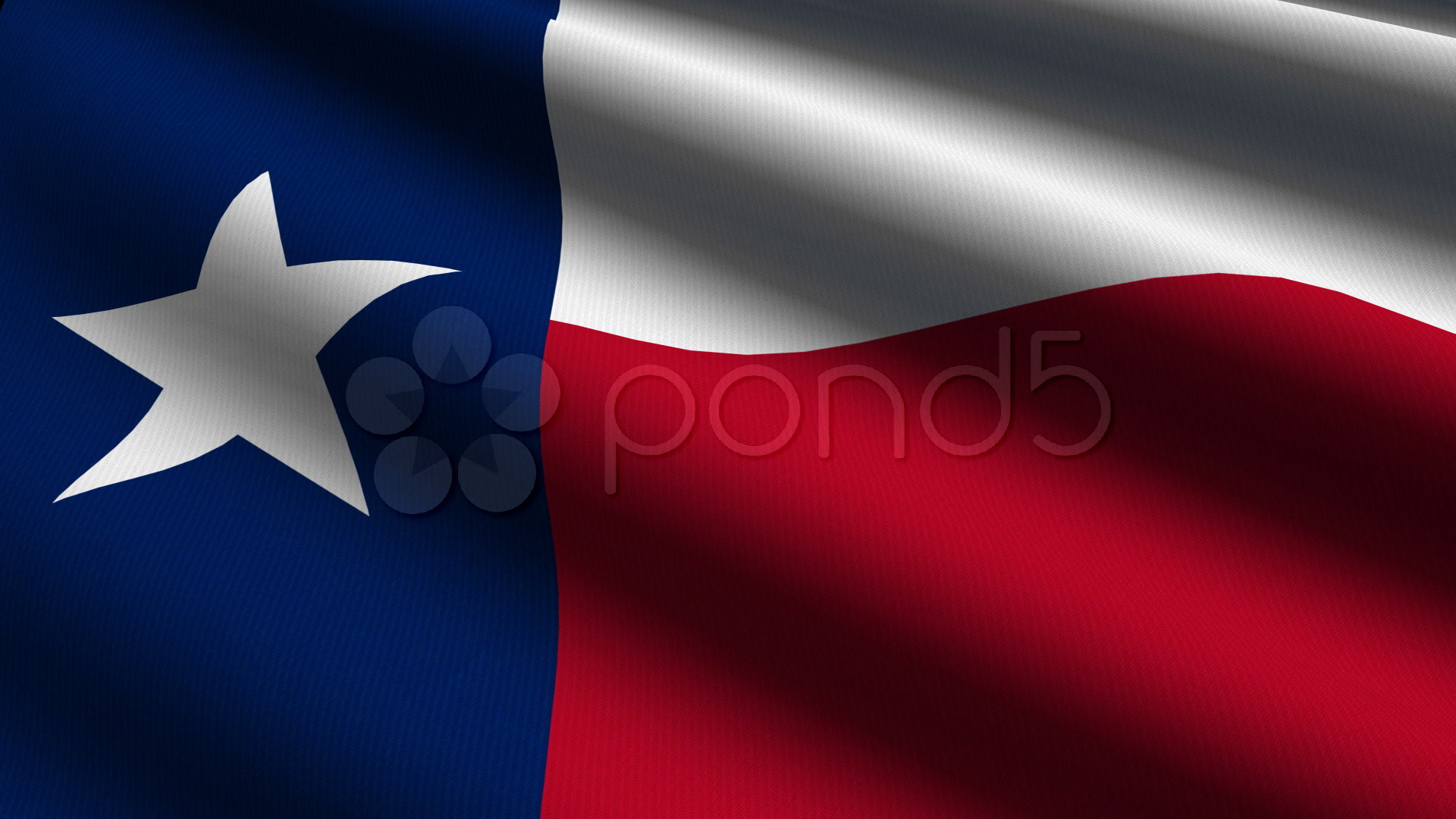 1920x1080 Texas Close Up Flag - Hd Loop Stock Video 630683 | HD Stock Footage