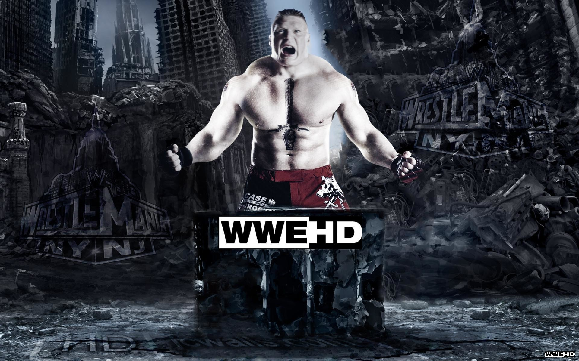 Brock Lesnar Logo Wallpapers (70+ images)
