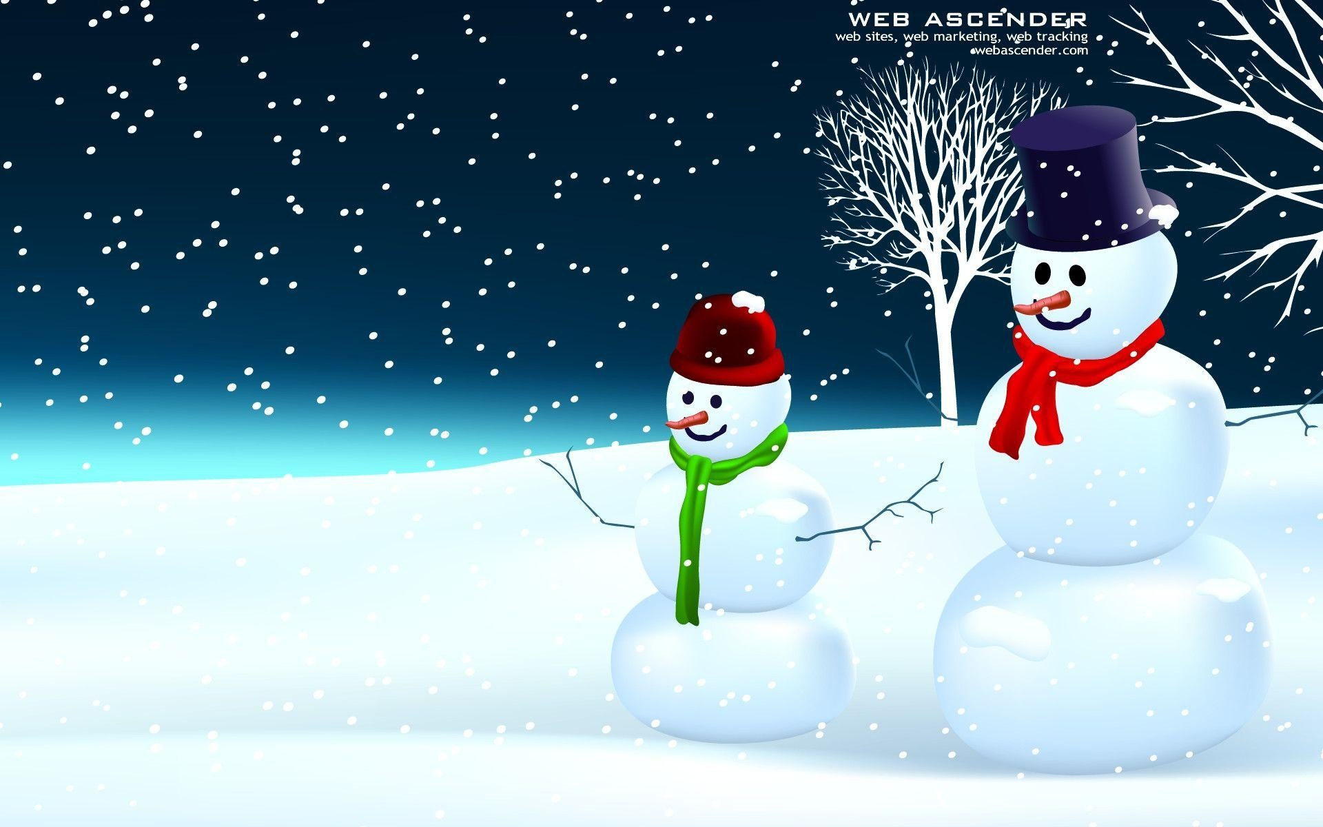 1920x1200 Snowman Wallpapers and Background
