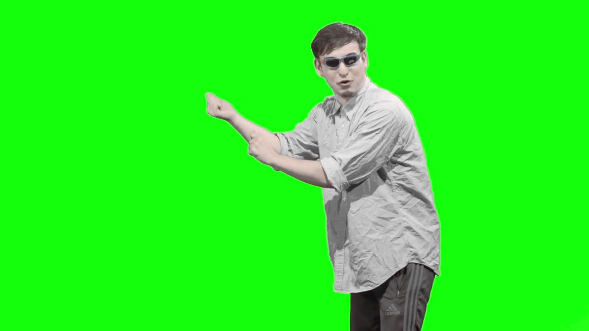 1920x1080 Filthy Frank - Side Ways For Attention - Green Screen Free Download