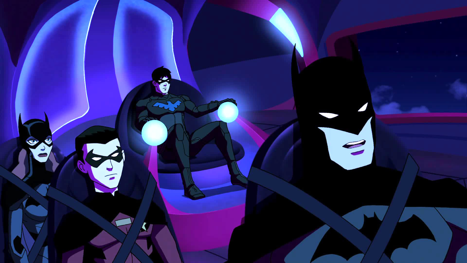 1920x1080 Scene 3, TV Show Young Justice season 2