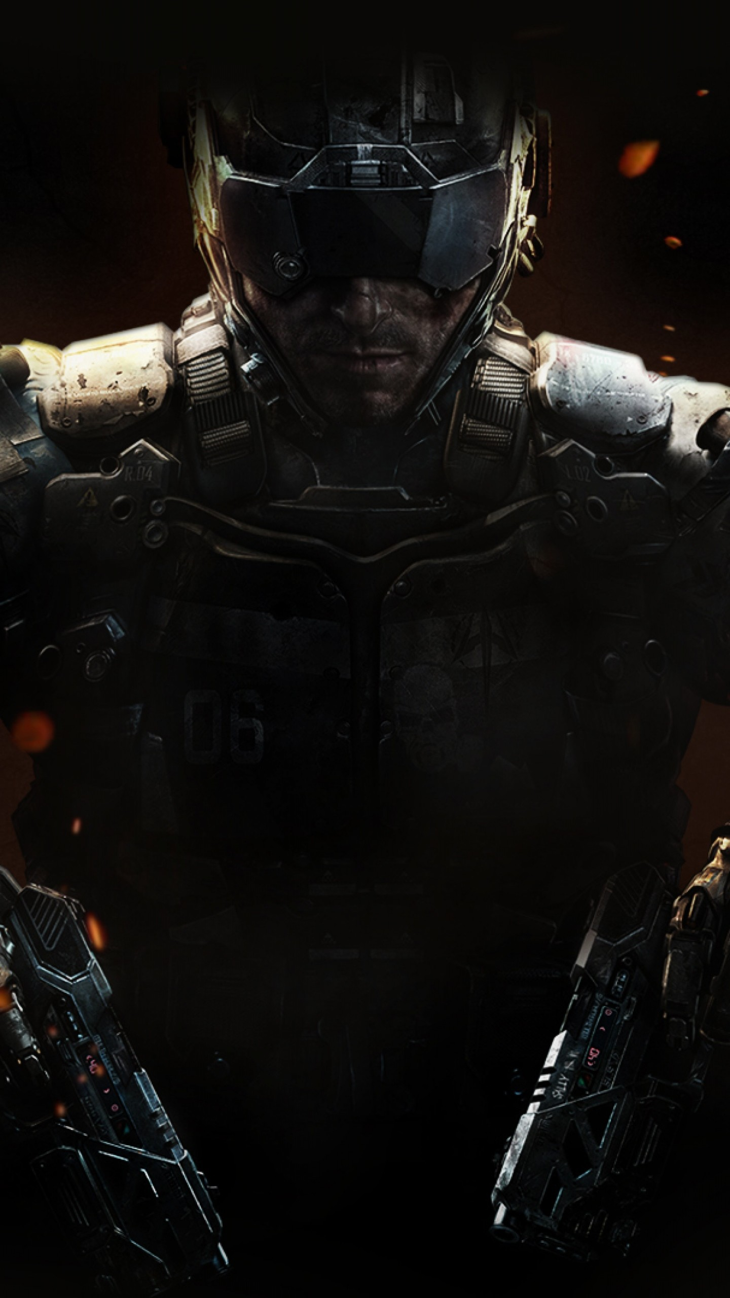1440x2560 Preview Wallpaper Call Of Duty Black Ops 3 Weapons Equipment
