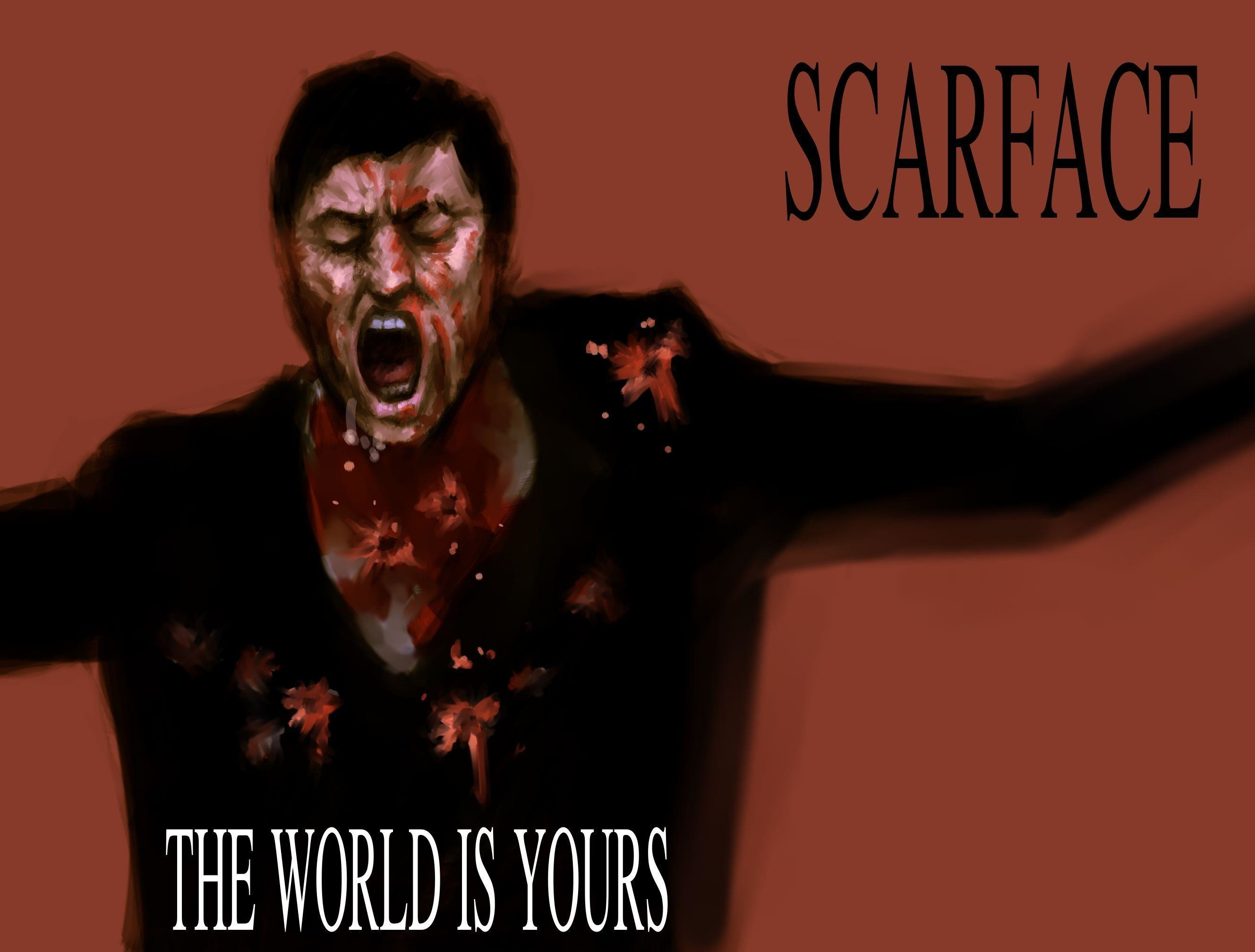2657x2016 Scarface The World is Yours Wallpapers - HD Wallpapers Inn