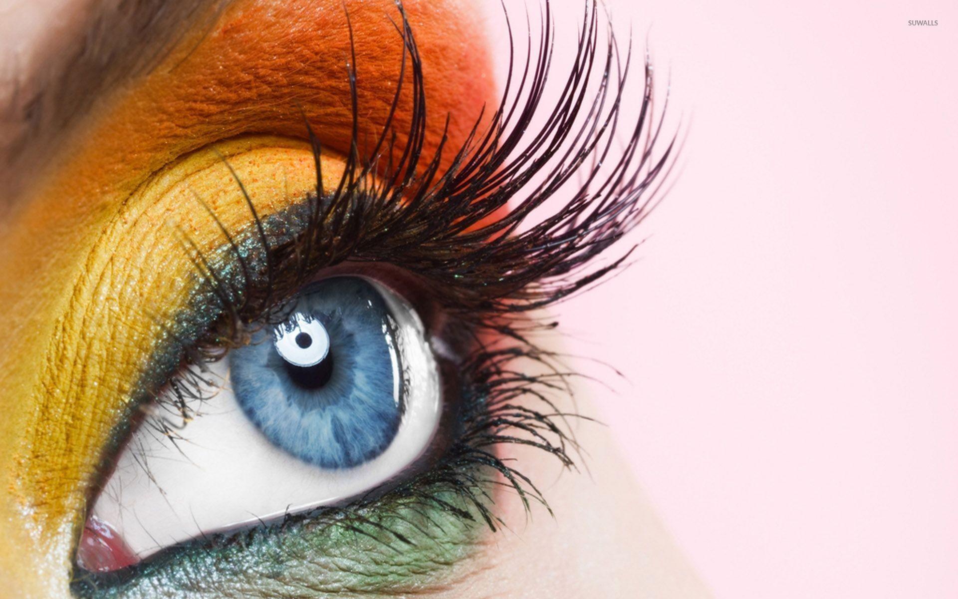 Beauty eye makeup wallpaper