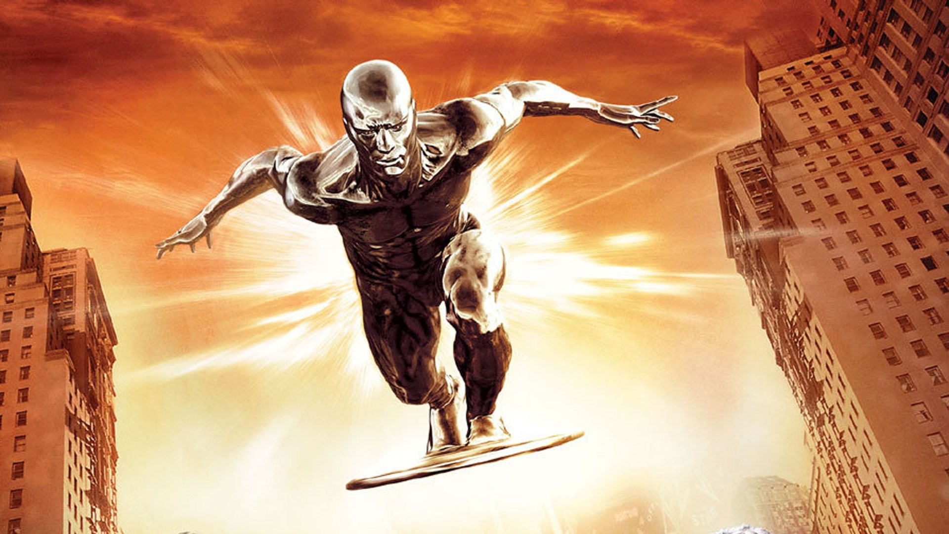 1920x1080  free screensaver wallpapers for fantastic 4 rise of the silver  surfer