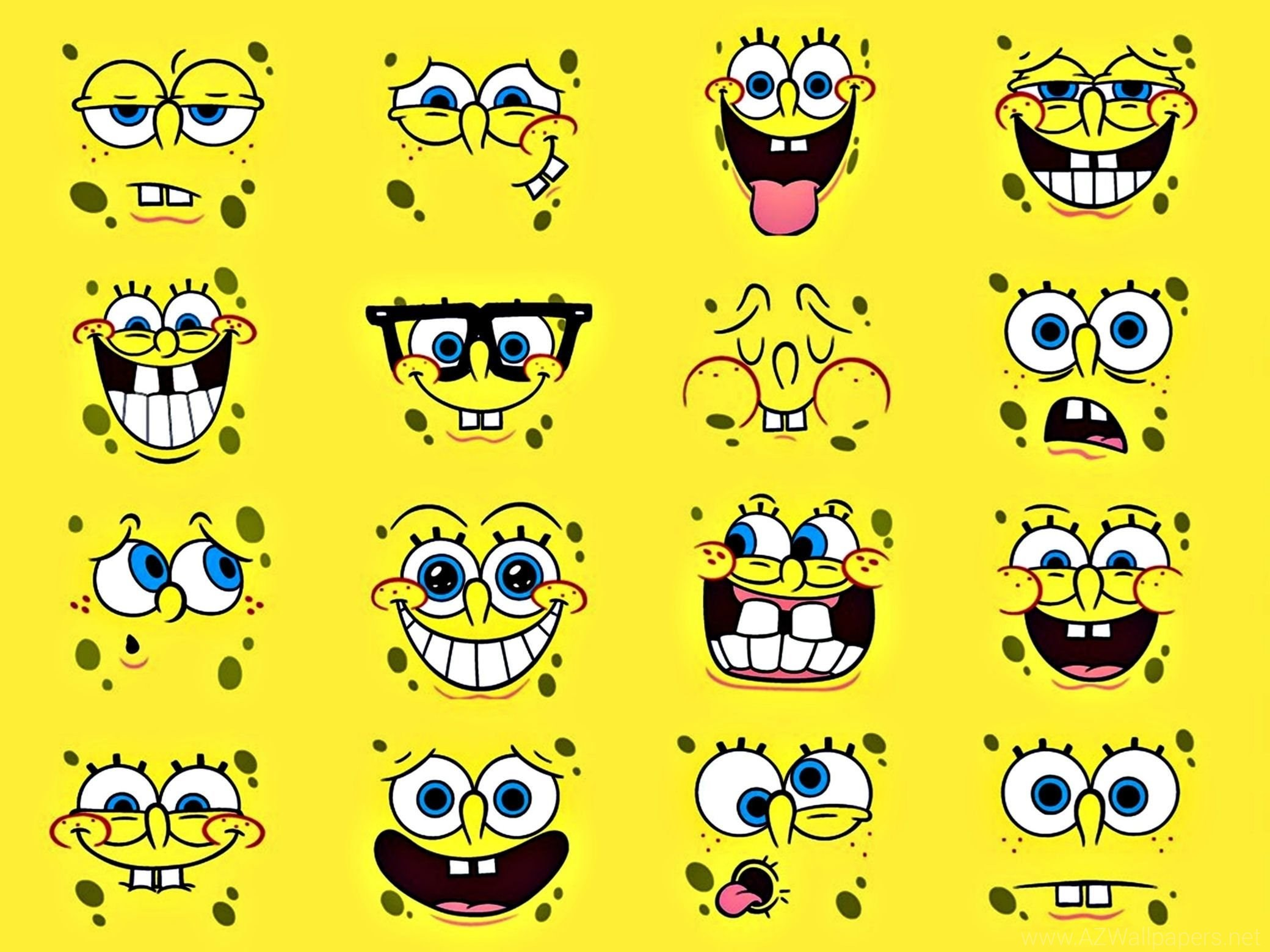 2080x1560 Face Spongebob Squarepants Anime HD Wallpapers Picture