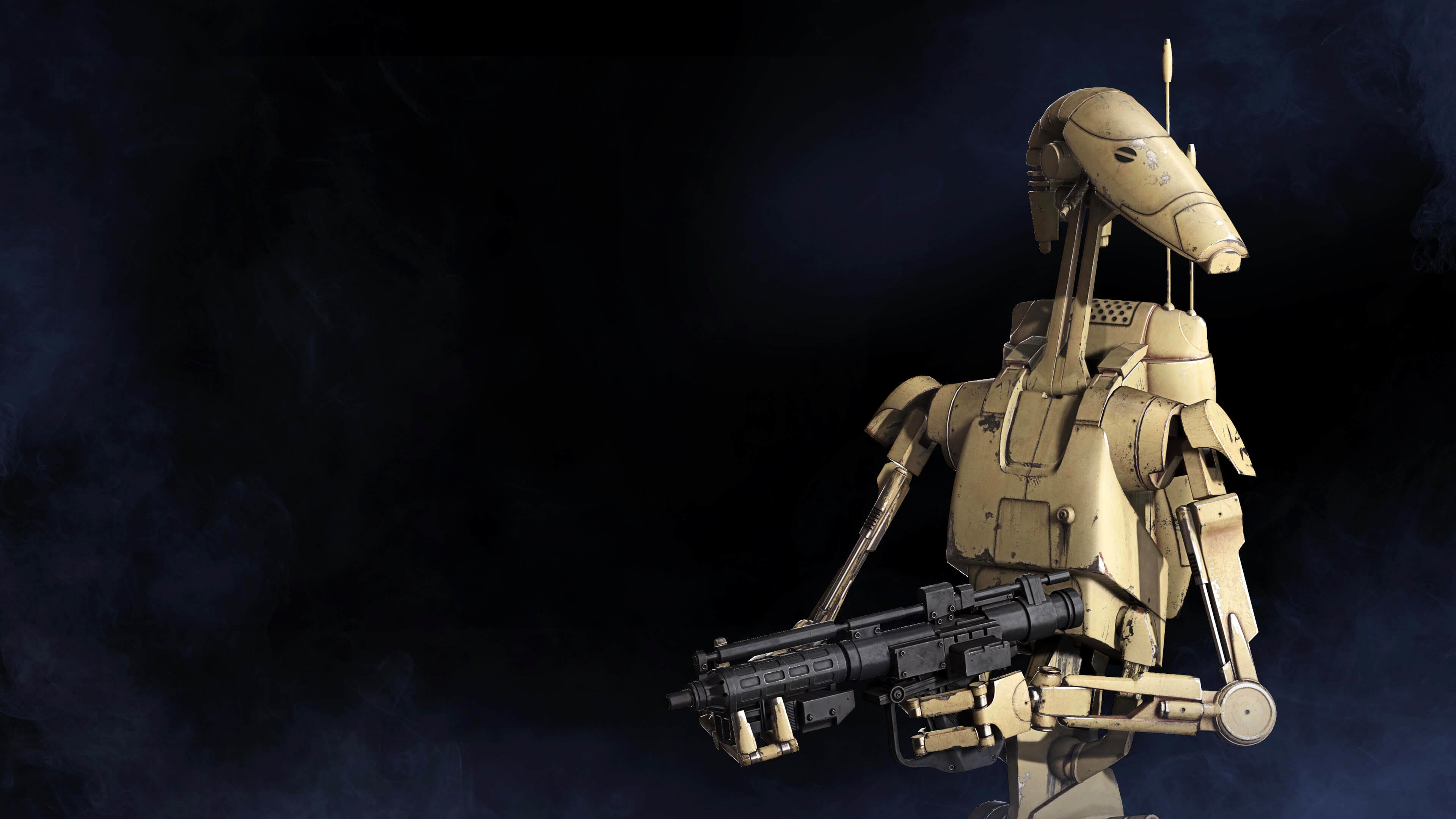 3840x2160 Star Wars: Battlefront II Battle droid  wallpaper