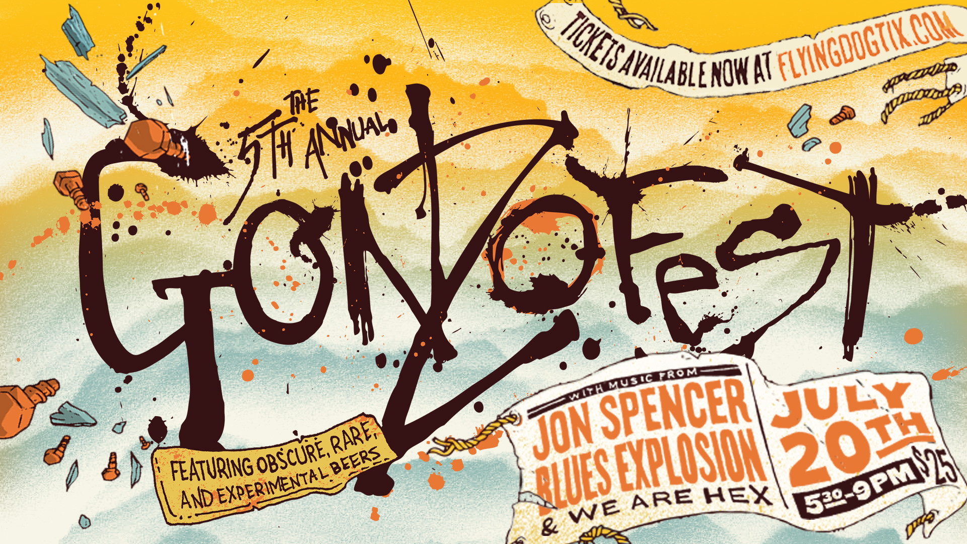 1920x1080 Gonzofest, our annual homage to Hunter S. Thompson, is this Saturday. From  5:30 to 9 pm, The Jon Spencer Blues Explosion, along with We Are Hex, ...