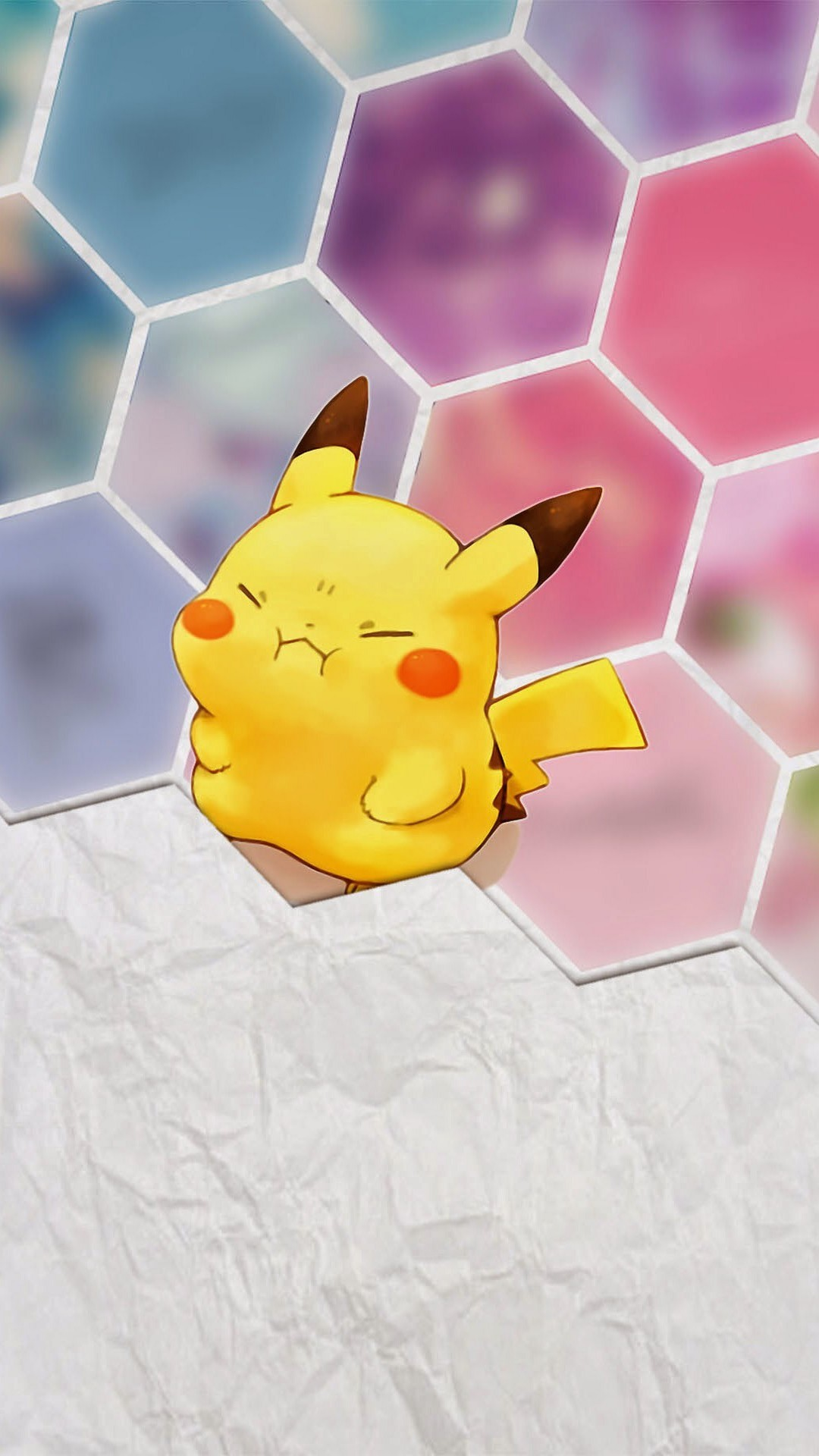 1080x1920 Tap image for more iPhone 6 Plus Pikachu wallpapers! Pikachu - @mobile9 |  Cute