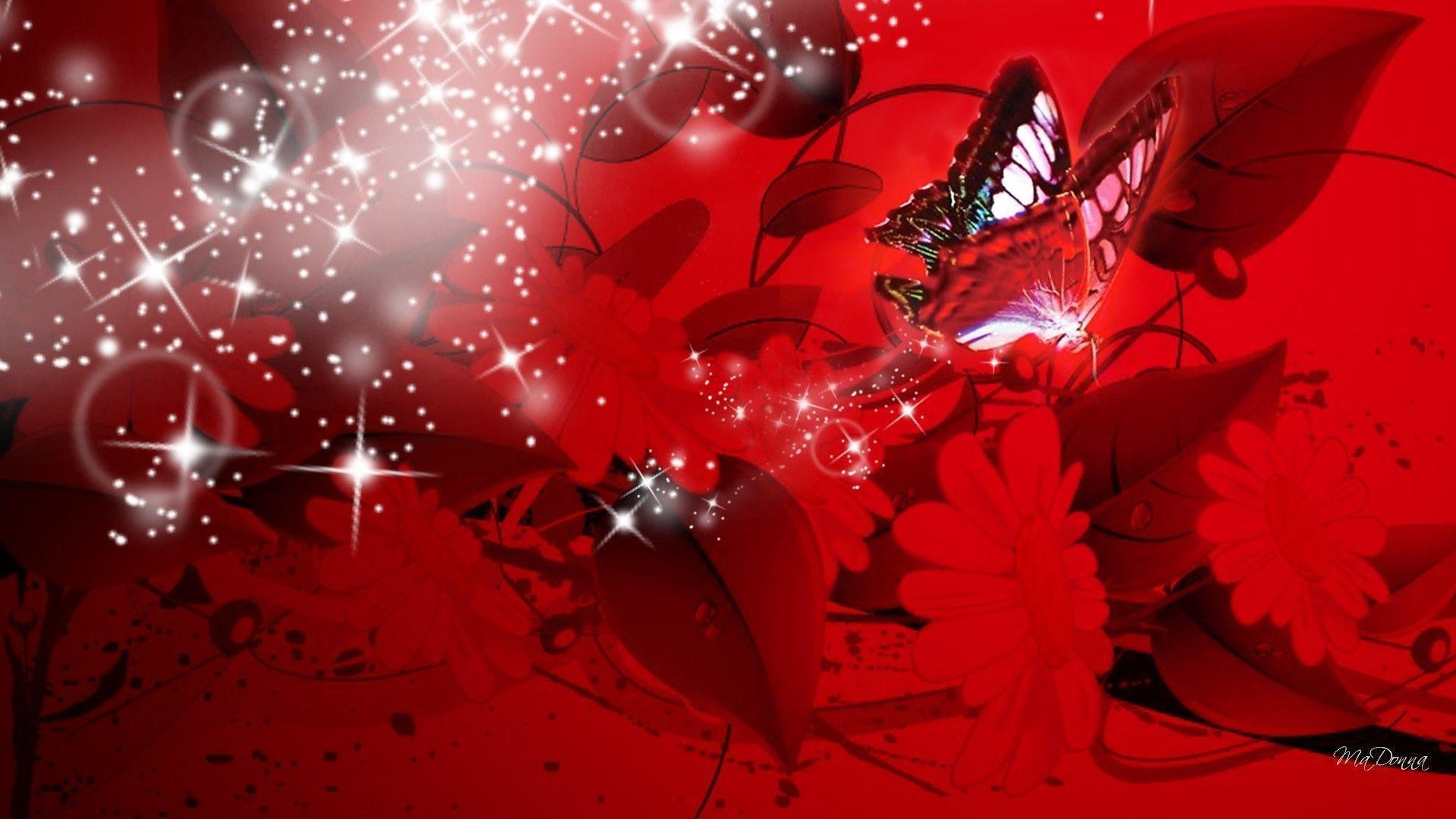 Red Butterfly Wallpaper 65 Images