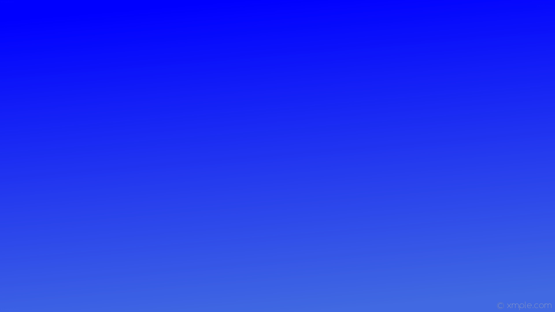 1920x1080 wallpaper linear gradient blue royal blue #0000ff #4169e1 105°