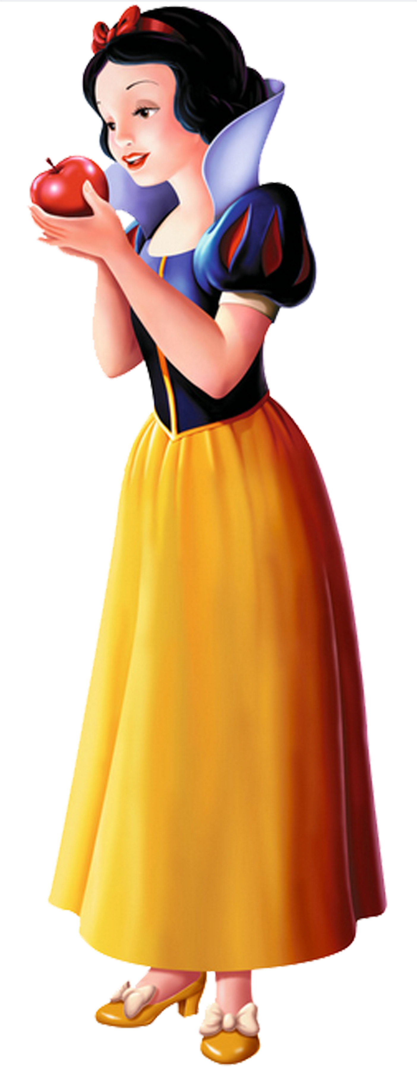 1404x3600 Snow White PNG Pic