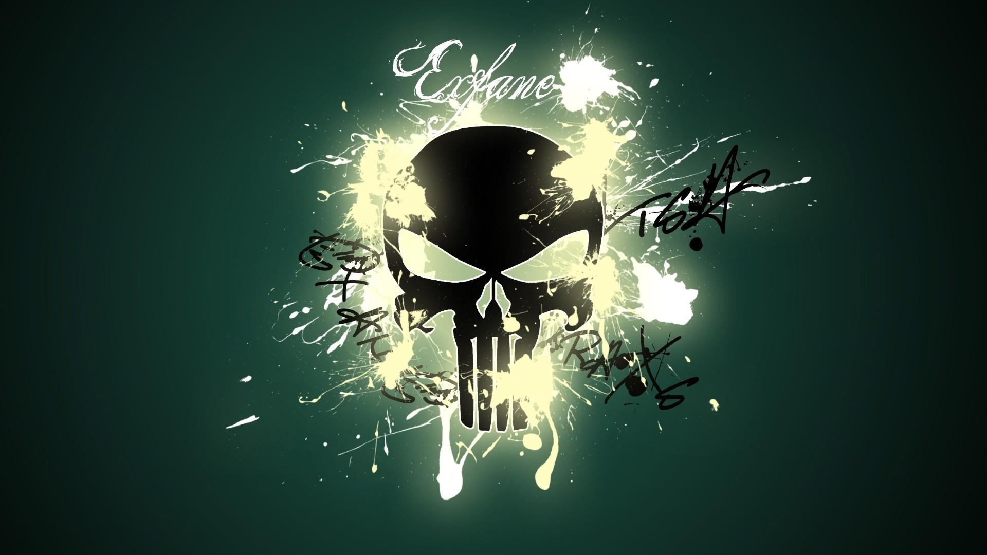 punisher skull wallpaper hd (67+ images)
