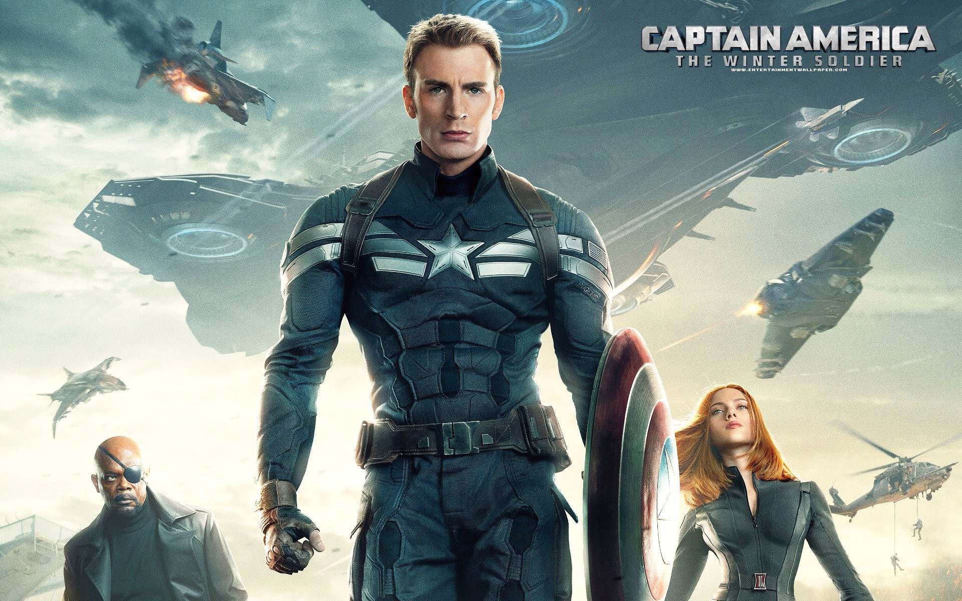 1920x1200 Captain America The Winter Soldier Poster