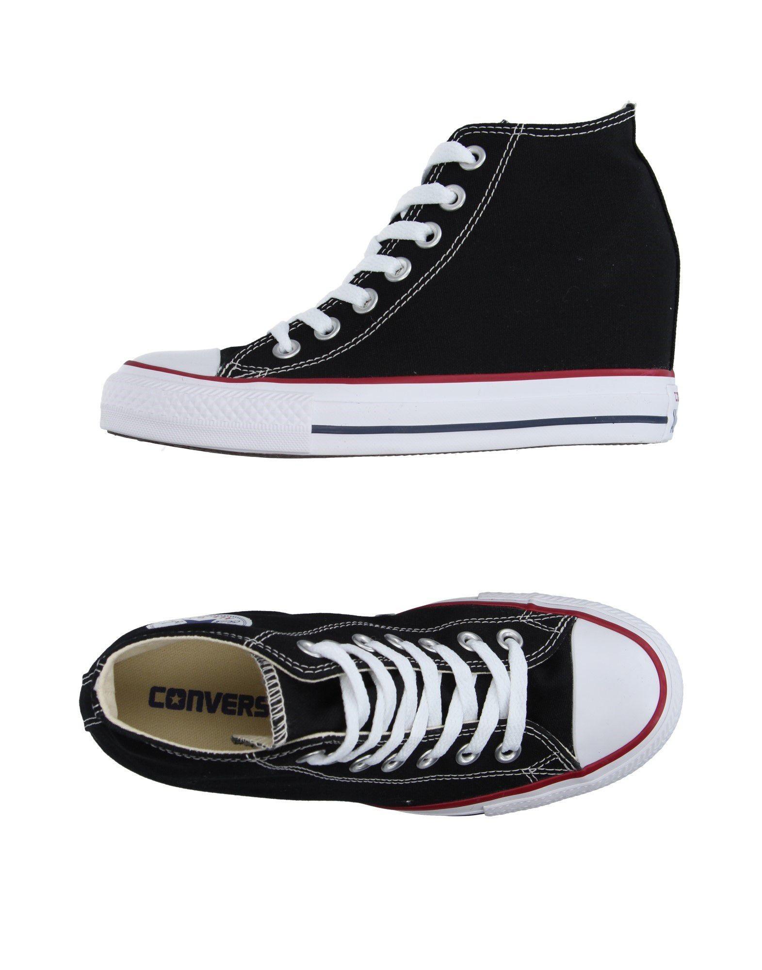 de9fdb593370 CONVERSE ALL STAR Sneakers Schwarz Damen Schuhe