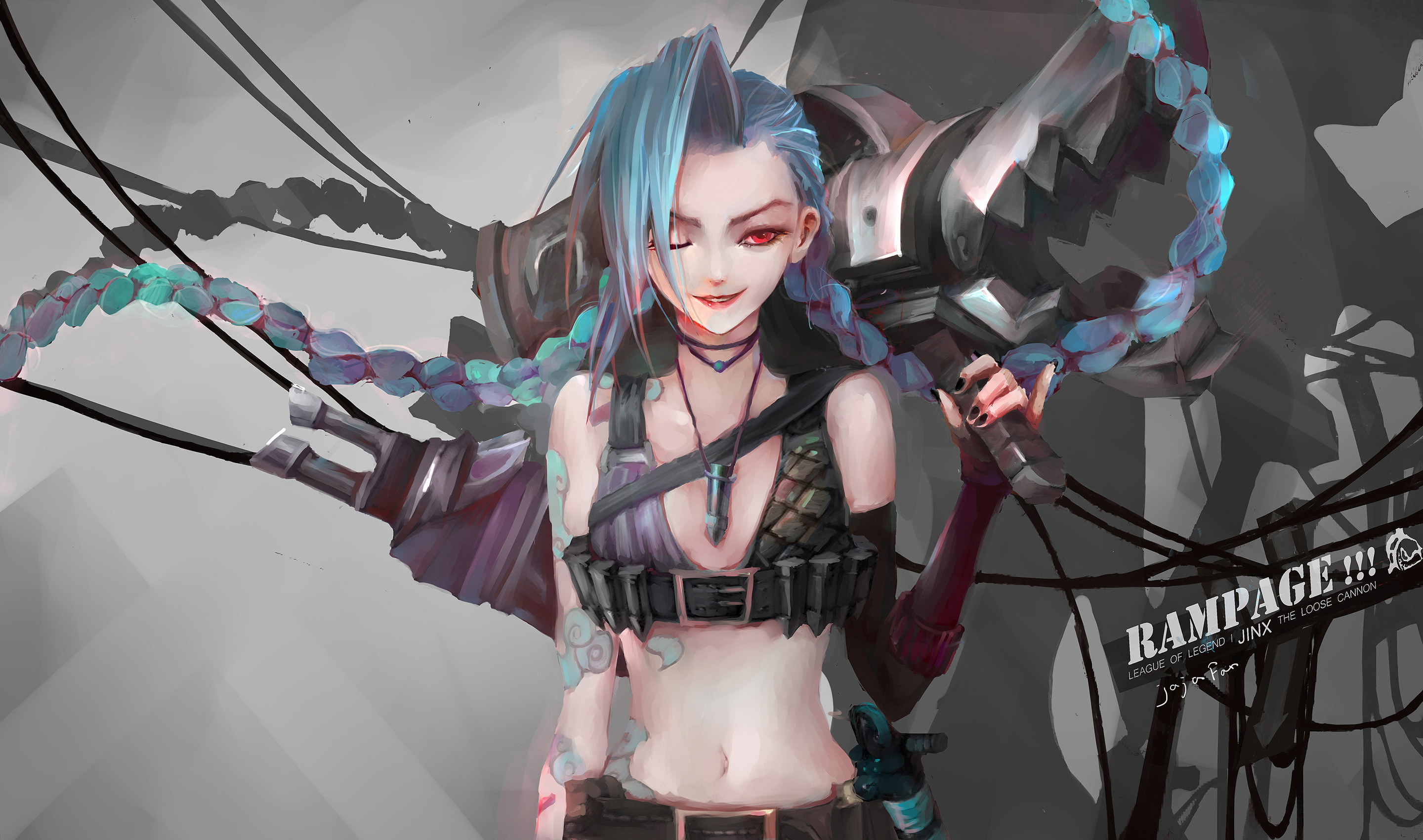 lol jinx wallpaper (82+ images)
