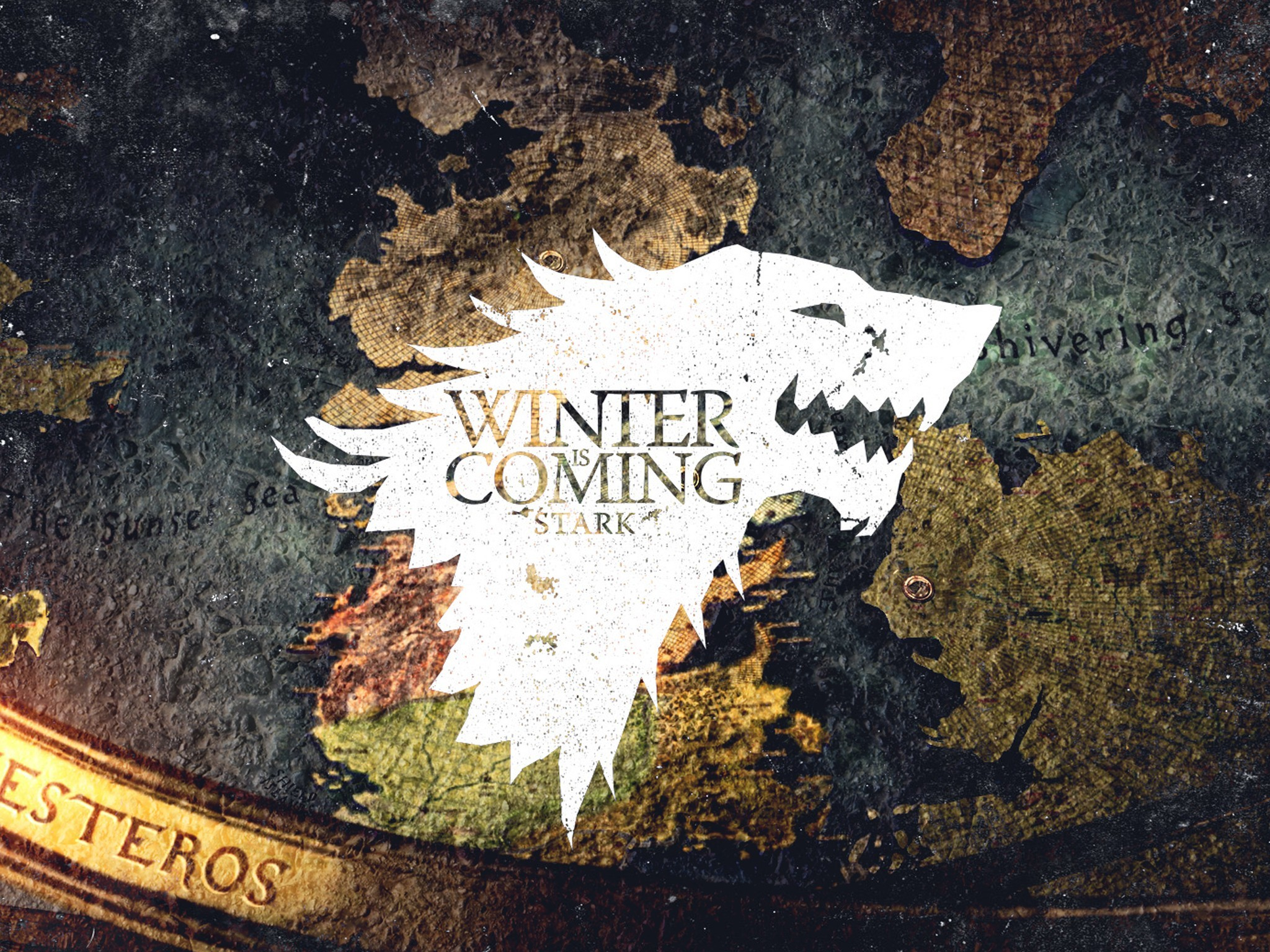 2048x1536 Crest Game of Thrones Winter is Coming direwolf House Stark wolves wallpaper  |  | 218007 | WallpaperUP