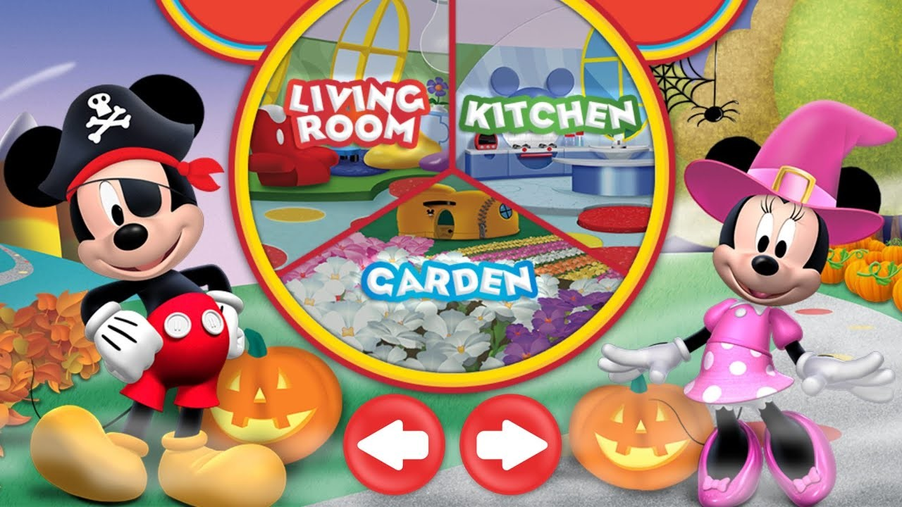 2048x1152 Halloween Mickey Mouse Clubhouse Game App for Kids, Android, iPad, iPhone,  Windows - YouTube