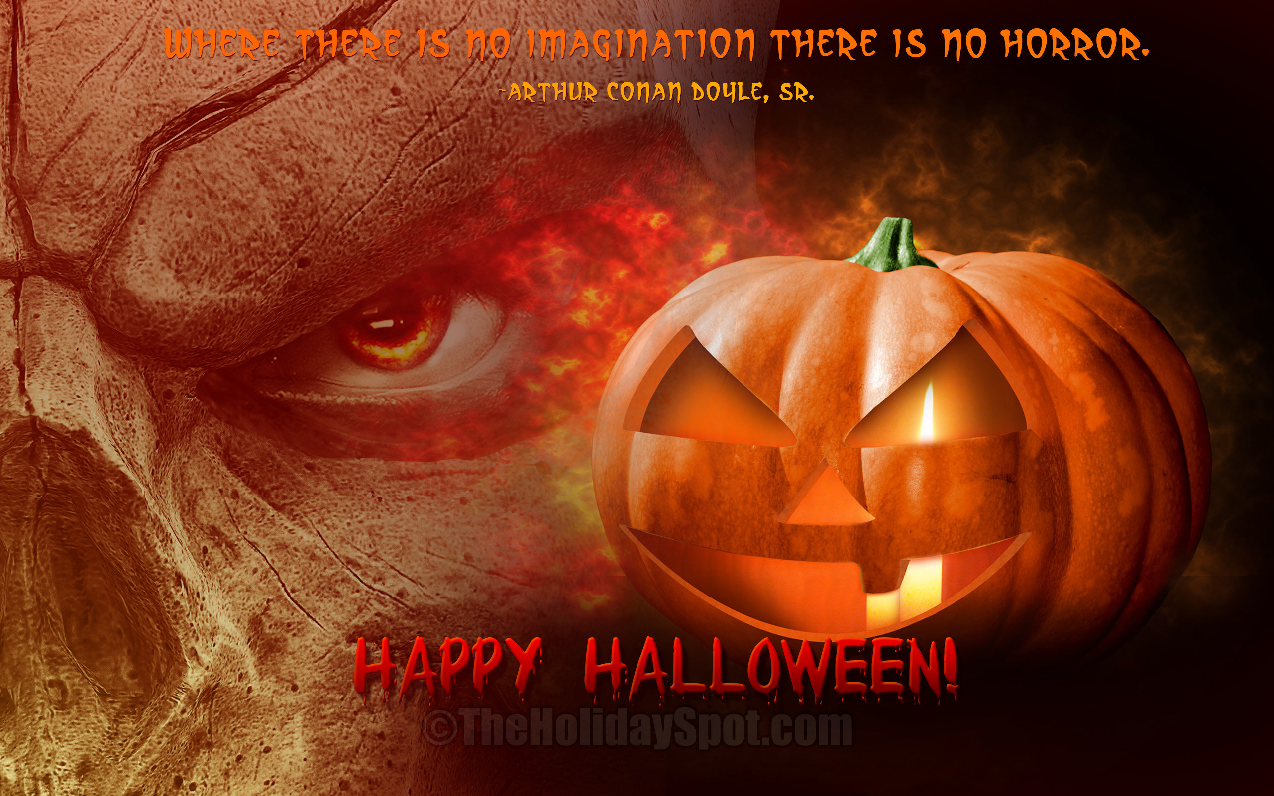 2560x1600 Happy Halloween Wallpaper