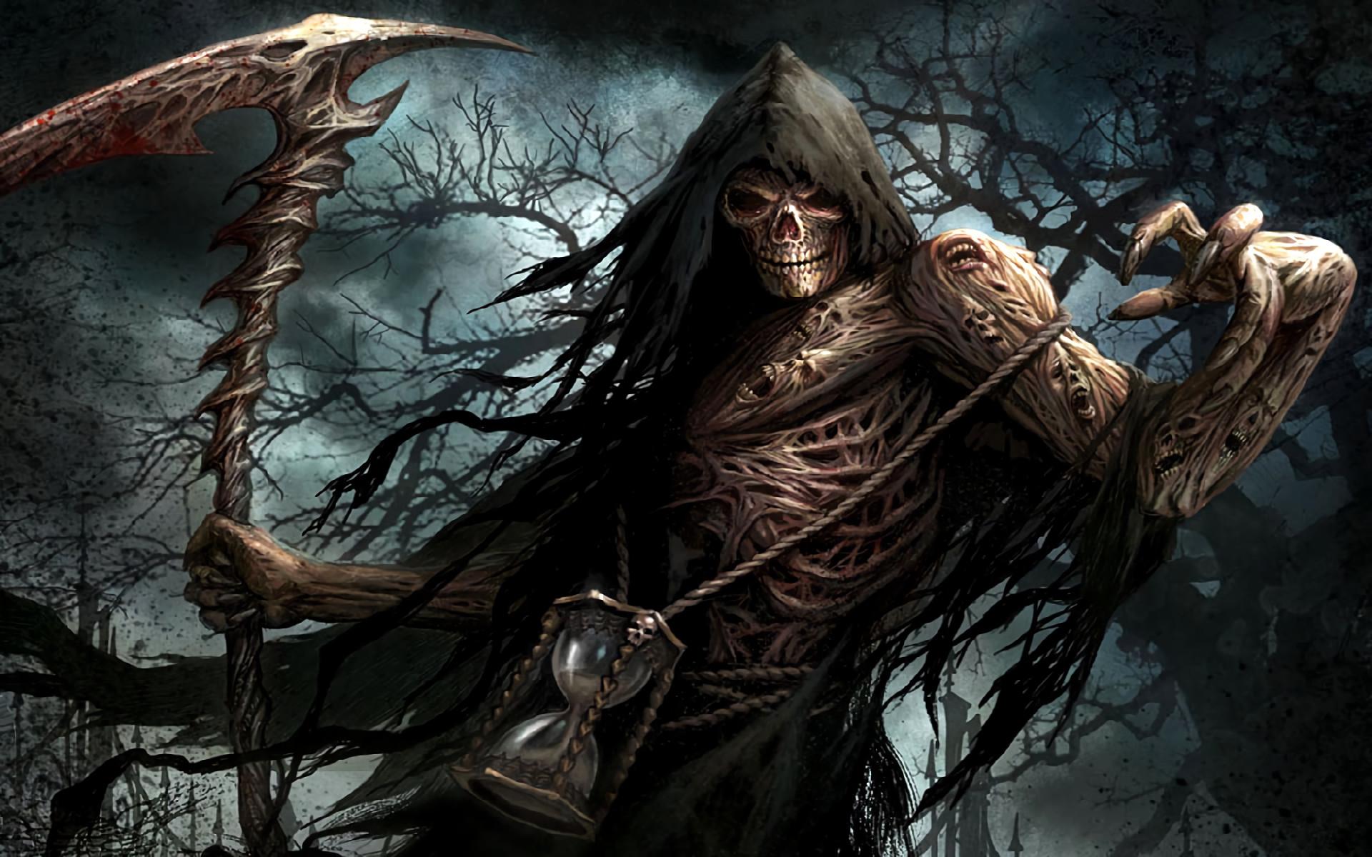 badass grim reaper wallpaper