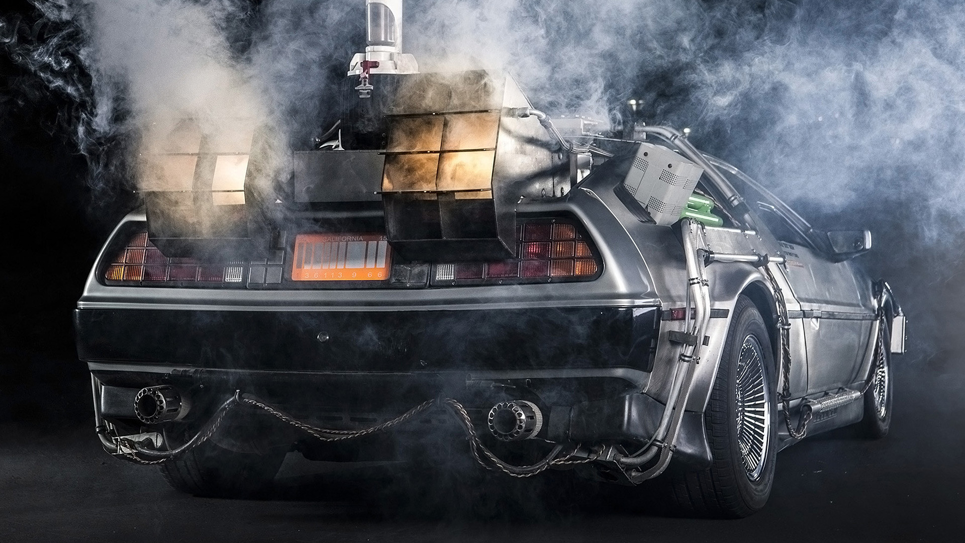 1920x1080 1985 DeLorean DMC-12 'Back to the Future' picture